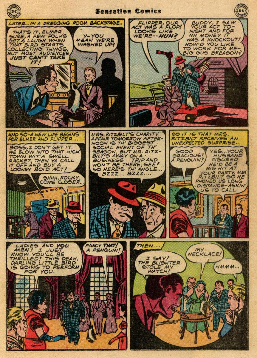 Read online Sensation (Mystery) Comics comic -  Issue #61 - 34