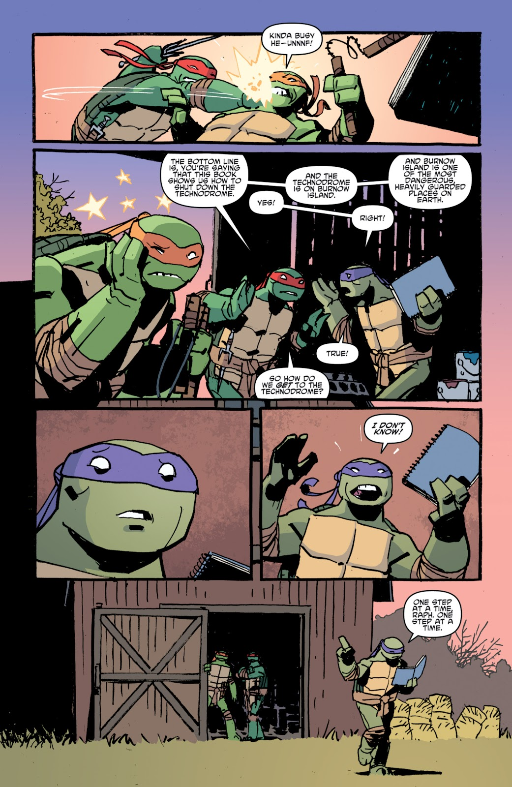Read online Teenage Mutant Ninja Turtles: The IDW Collection comic -  Issue # TPB 4 (Part 1) - 91