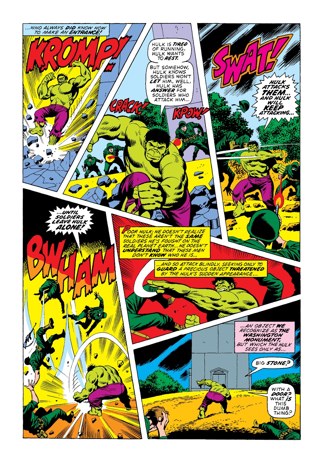 Read online Marvel Masterworks: The Incredible Hulk comic -  Issue # TPB 10 (Part 2) - 21