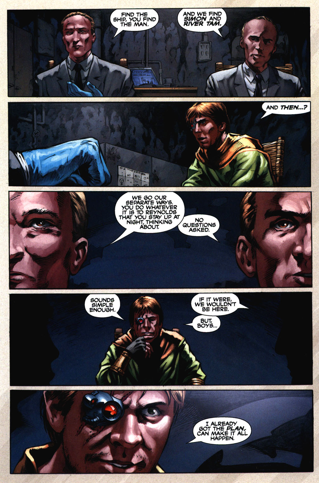 Read online Serenity comic -  Issue #2 - 13