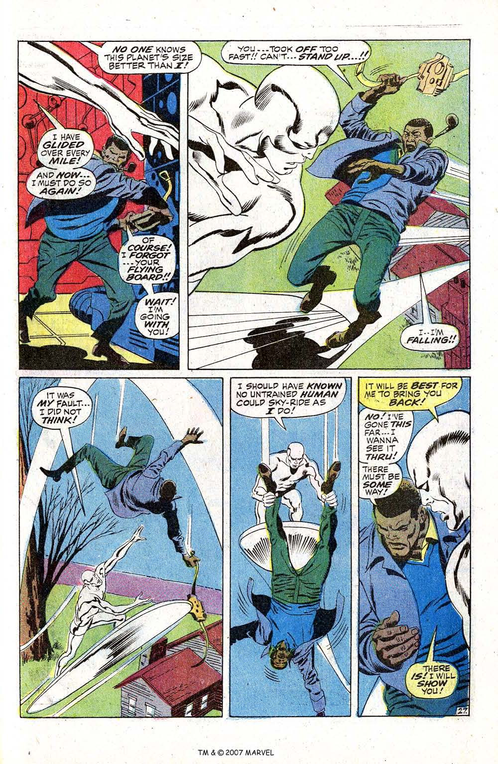 Read online Silver Surfer (1968) comic -  Issue #5 - 33
