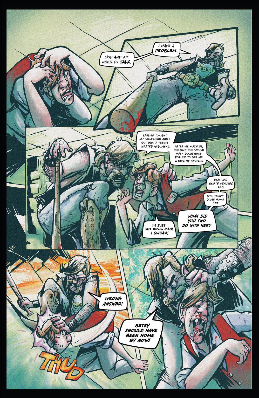 Read online Nightmare World comic -  Issue # Vol. 1 Thirteen Tales of Terror - 29