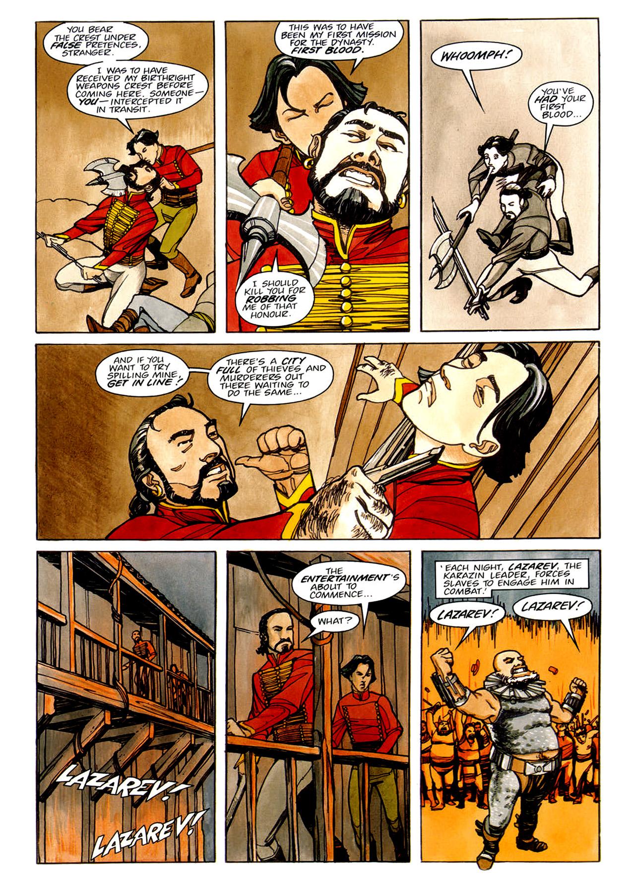 Read online Nikolai Dante comic -  Issue # TPB 1 - 72