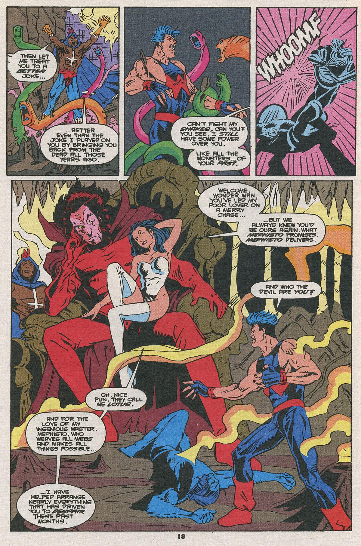 Read online Wonder Man (1991) comic -  Issue #25 - 14