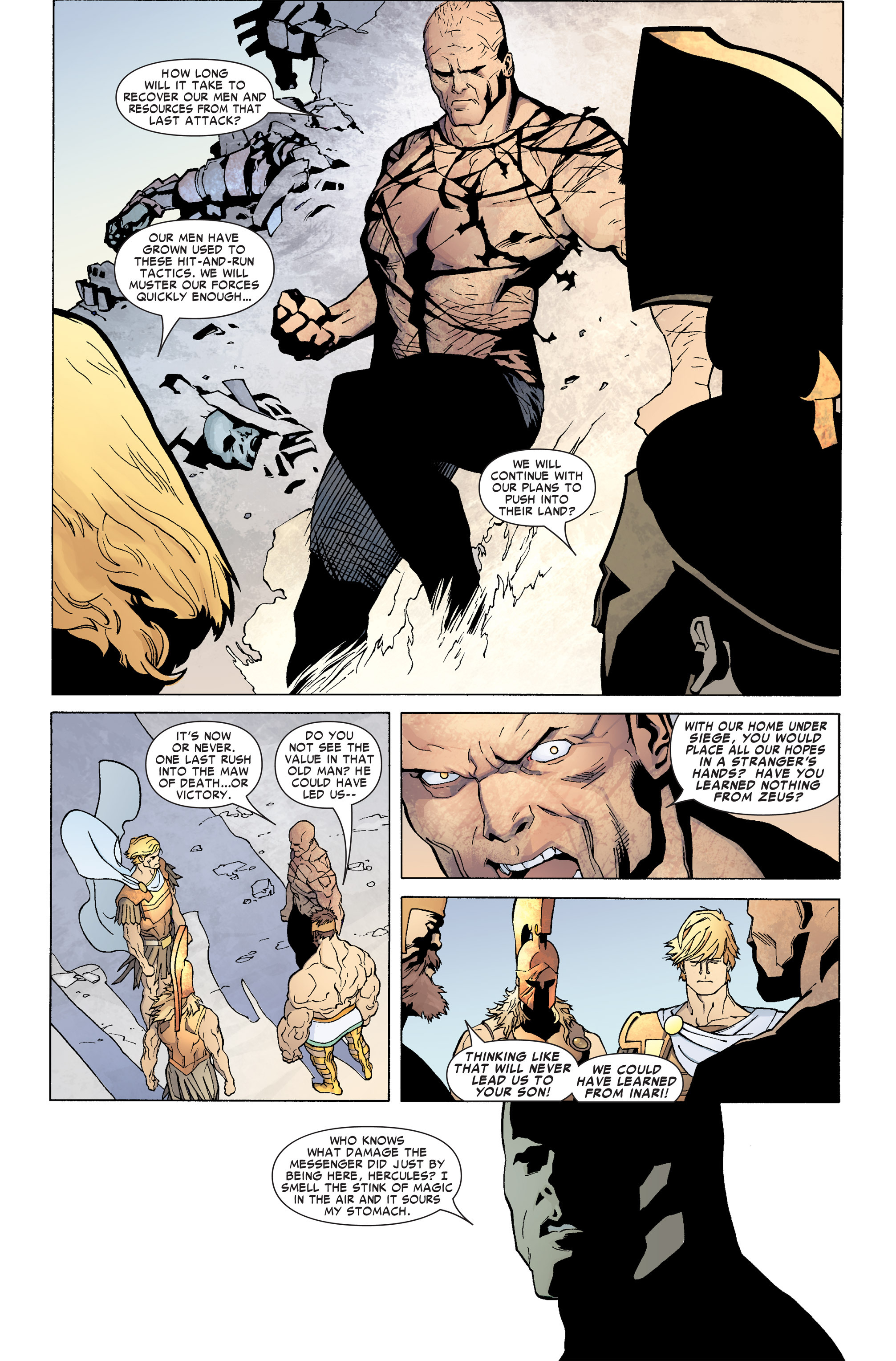 Read online Ares comic -  Issue #4 - 15