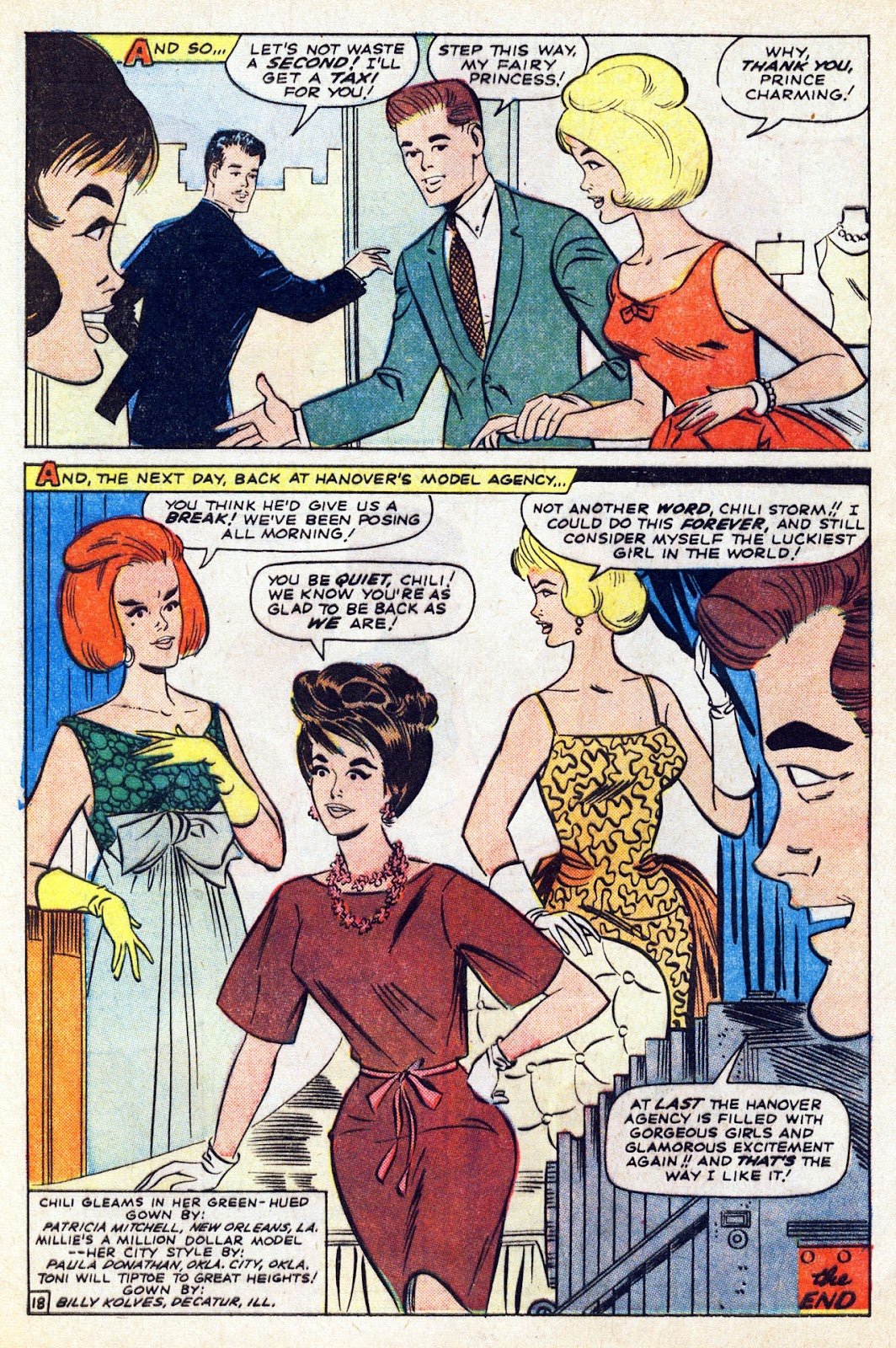 Read online Millie the Model comic -  Issue # Annual 5 - 64