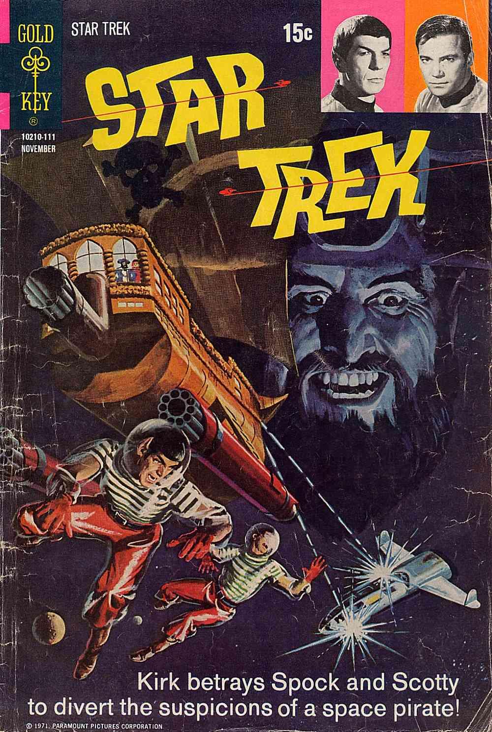 Star Trek (1967) issue 12 - Page 1