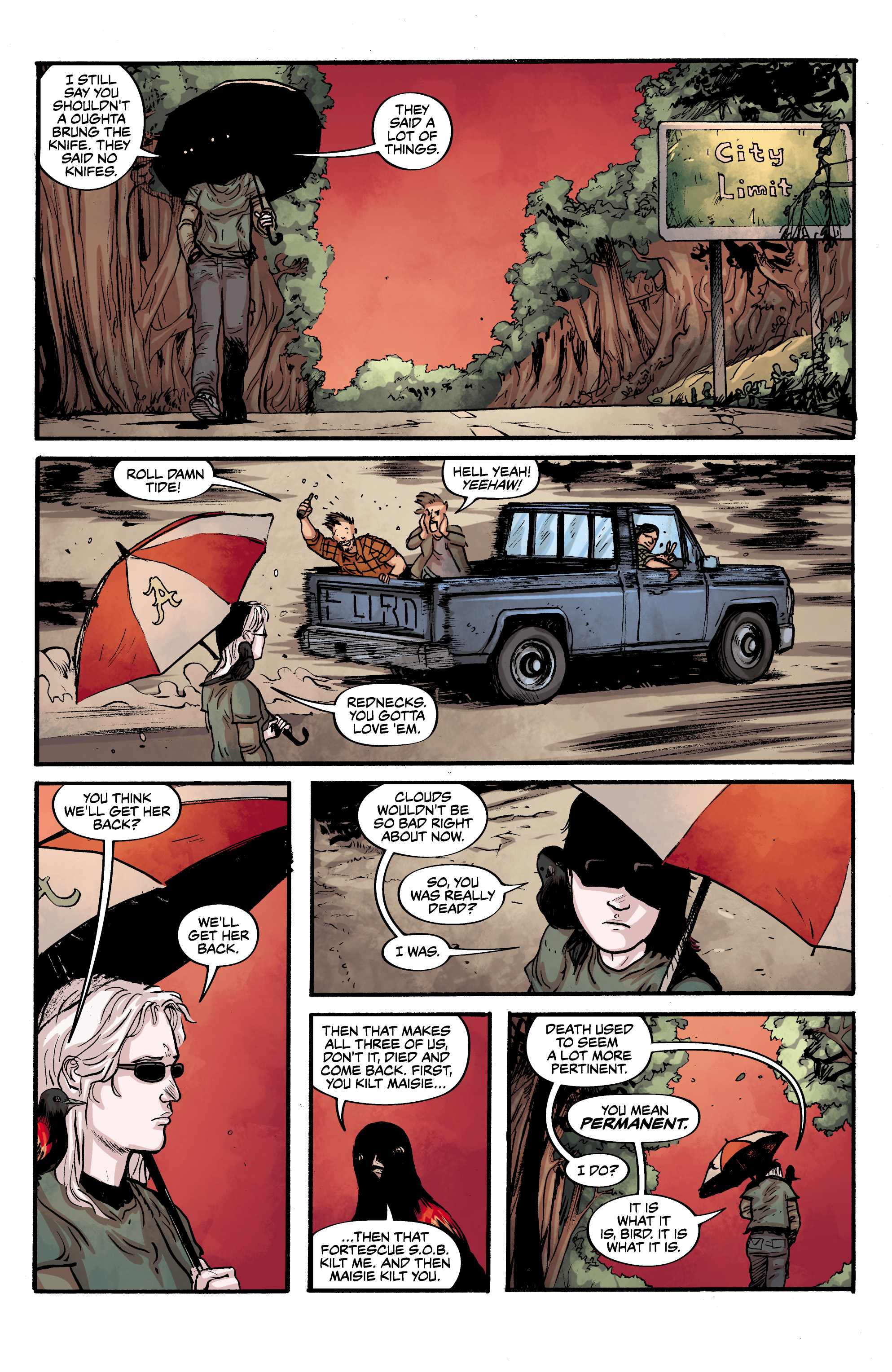 Read online Alabaster: The Good, the Bad and the Bird comic -  Issue #4 - 15