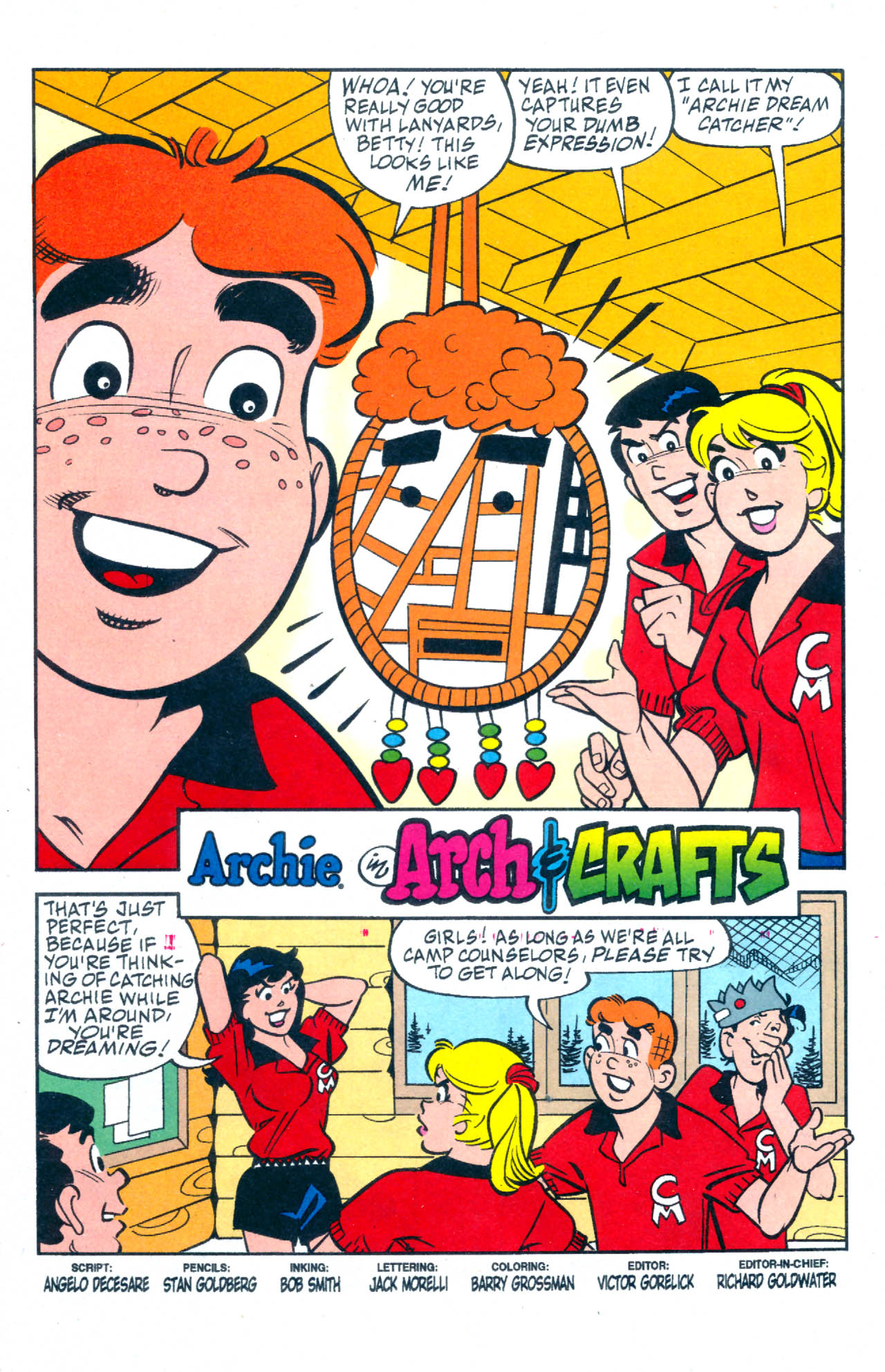 Read online Archie (1960) comic -  Issue #576 - 2