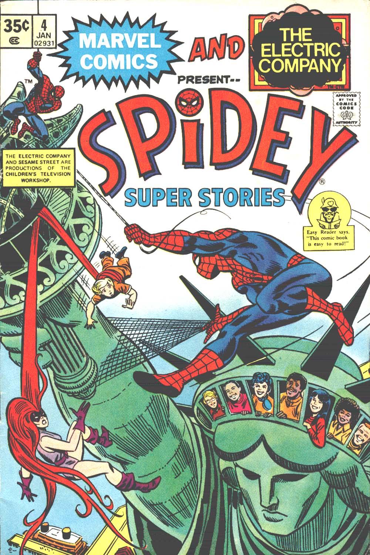 Spidey Super Stories 4 Page 1