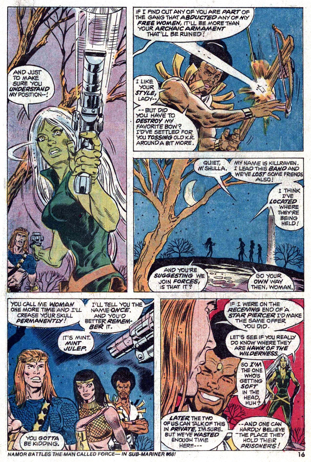Read online Amazing Adventures (1970) comic -  Issue #22 - 16