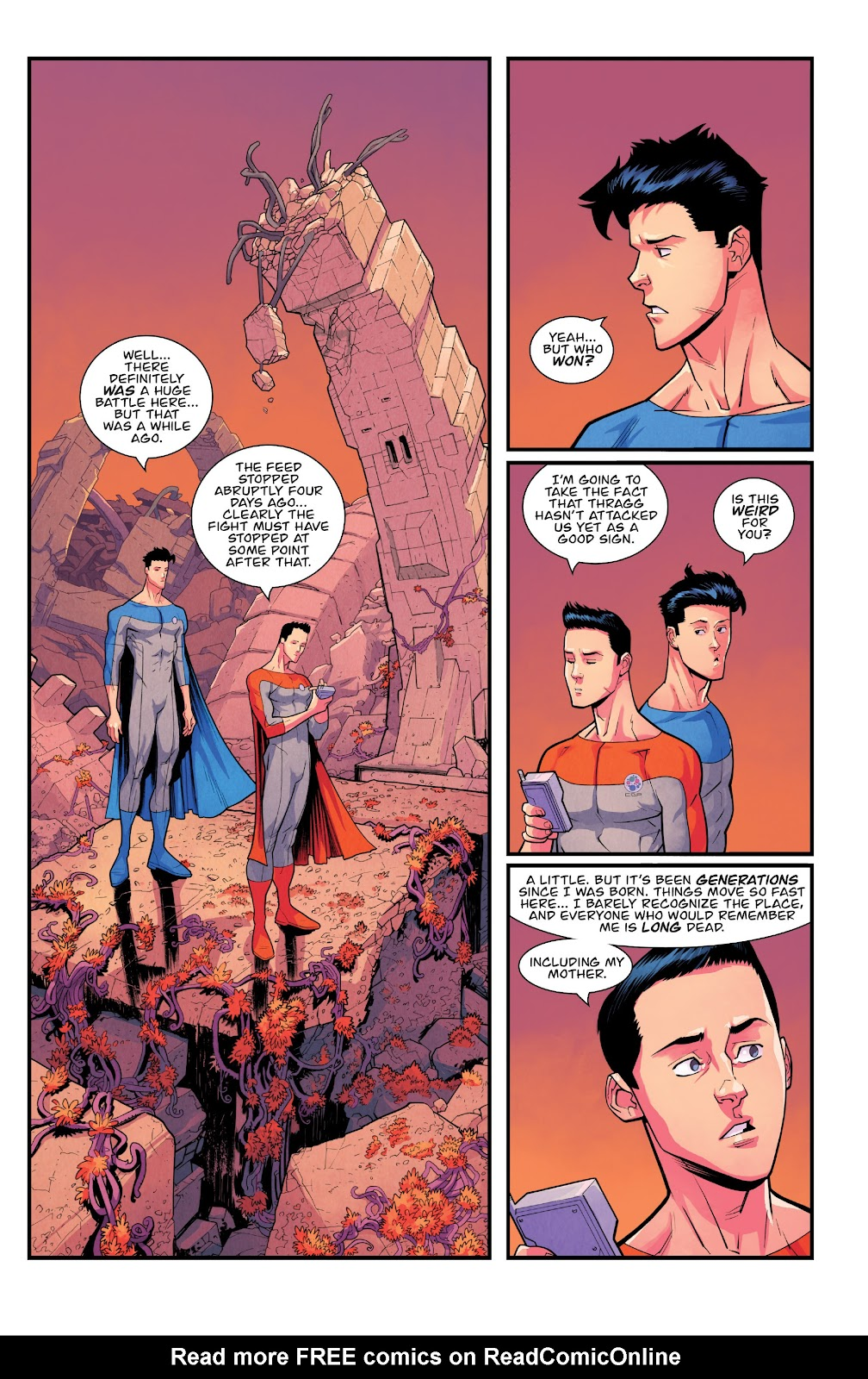 Invincible (2003) issue TPB 21 - Modern Family - Page 114