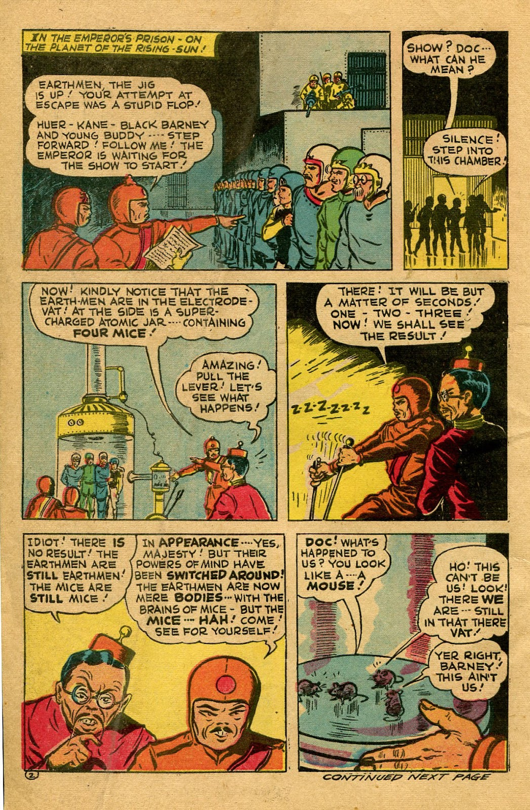 Read online Famous Funnies comic -  Issue #130 - 6