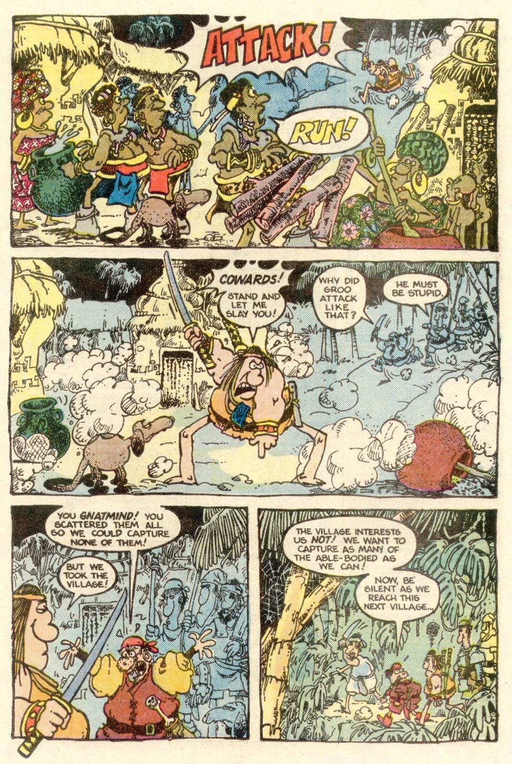 Read online Sergio Aragonés Groo the Wanderer comic -  Issue #5 - 8