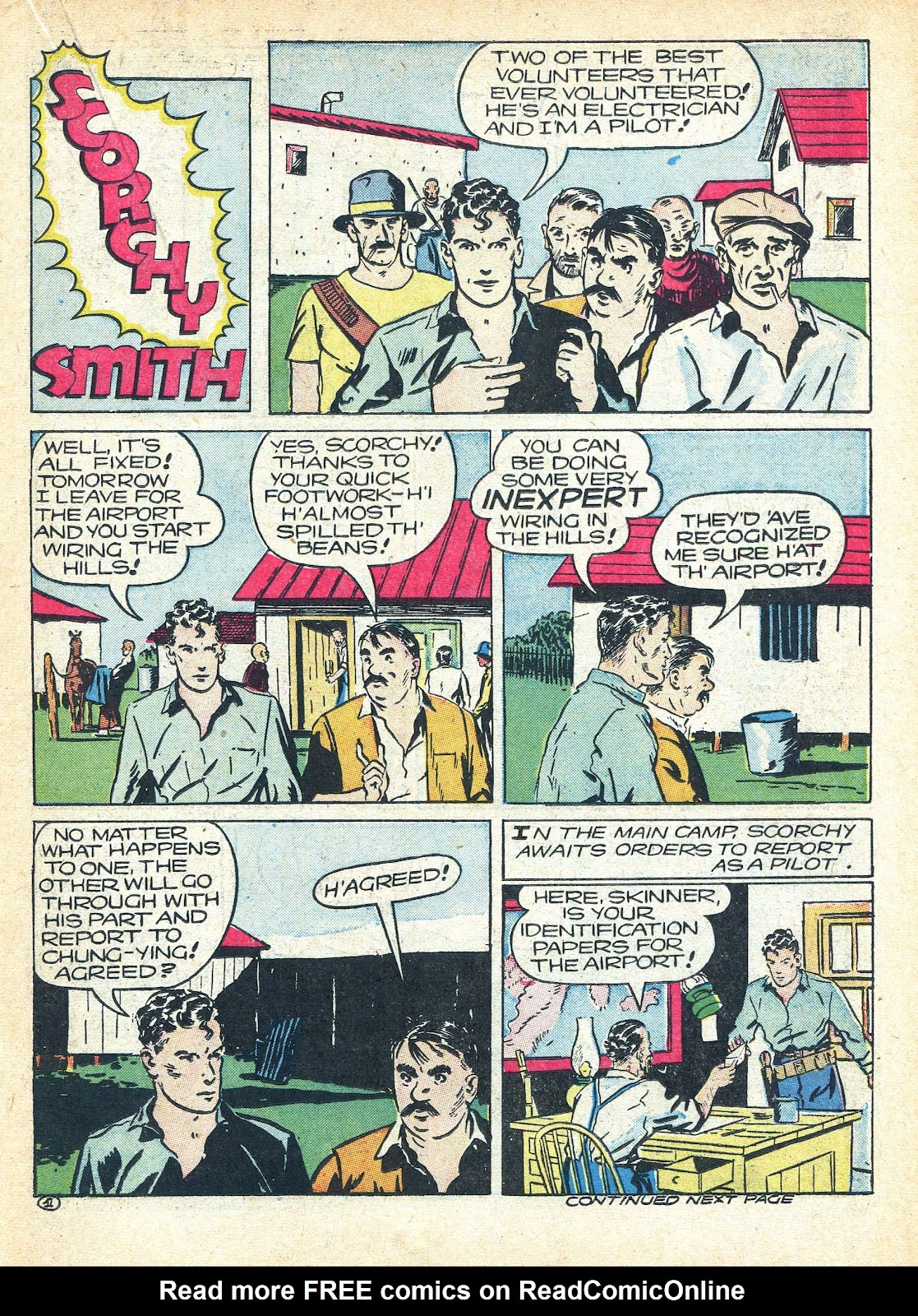 Read online Famous Funnies comic -  Issue #95 - 36