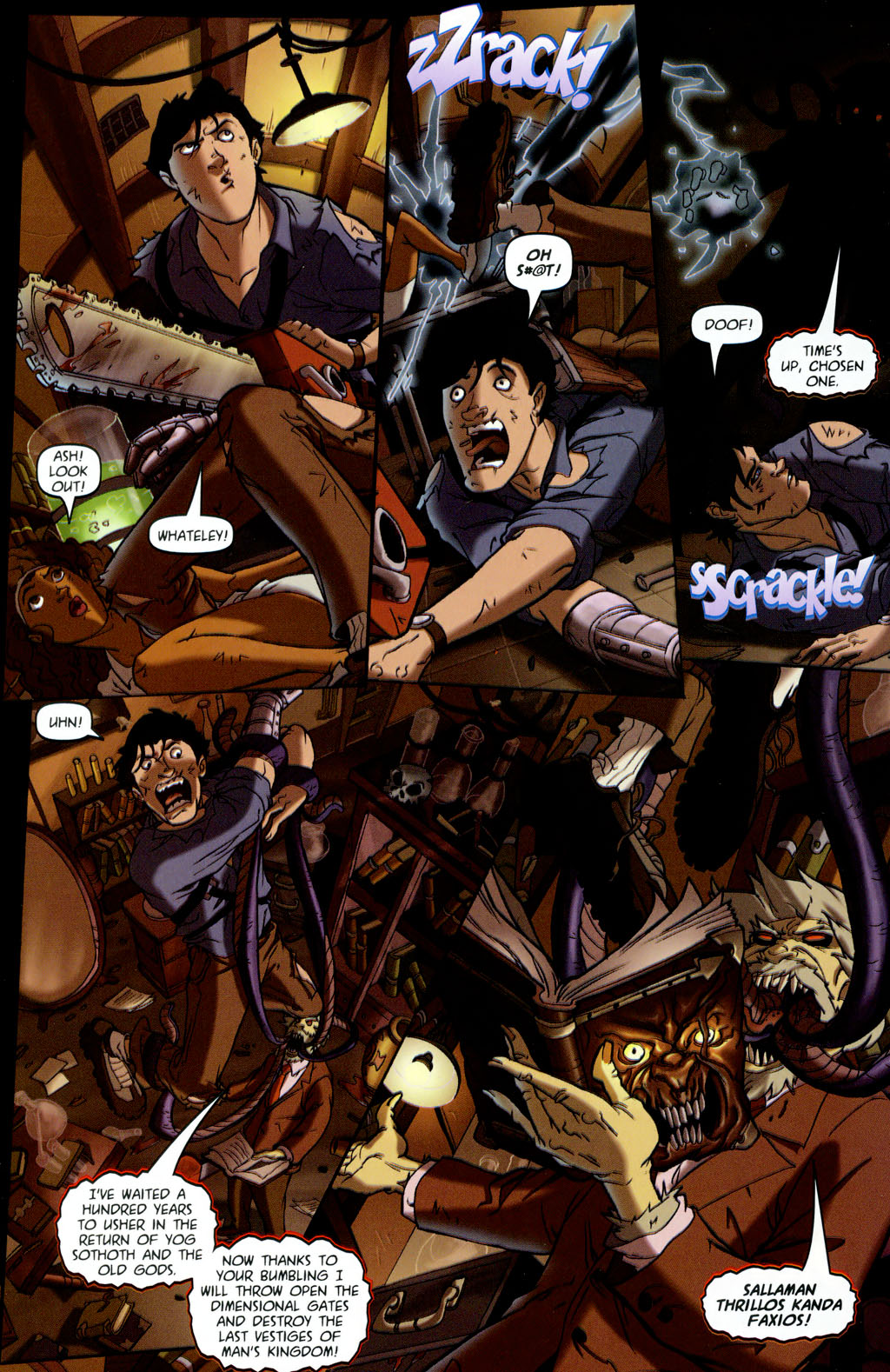Read online Army of Darkness vs. Re-Animator comic -  Issue #4 - 21