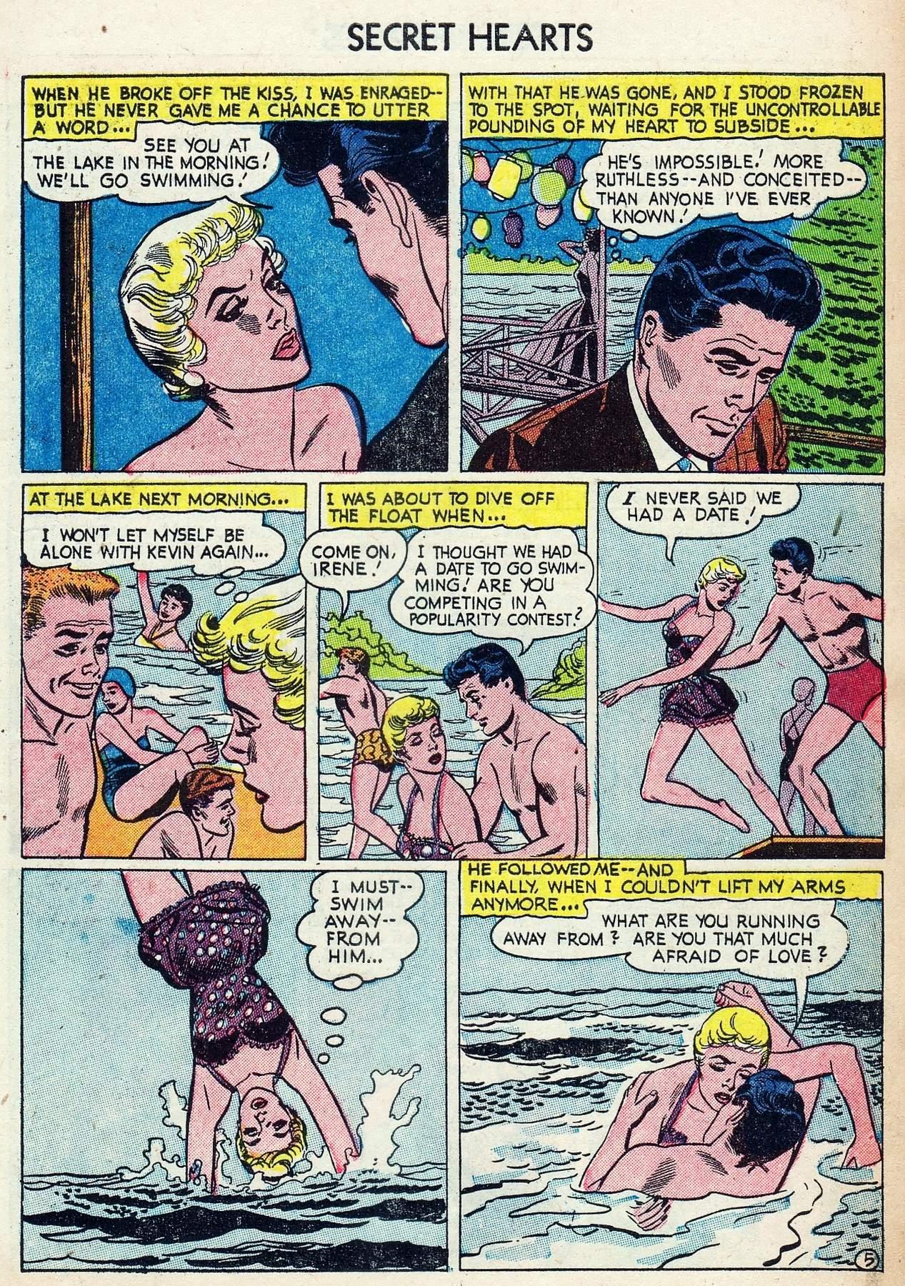Read online Secret Hearts comic -  Issue #25 - 7