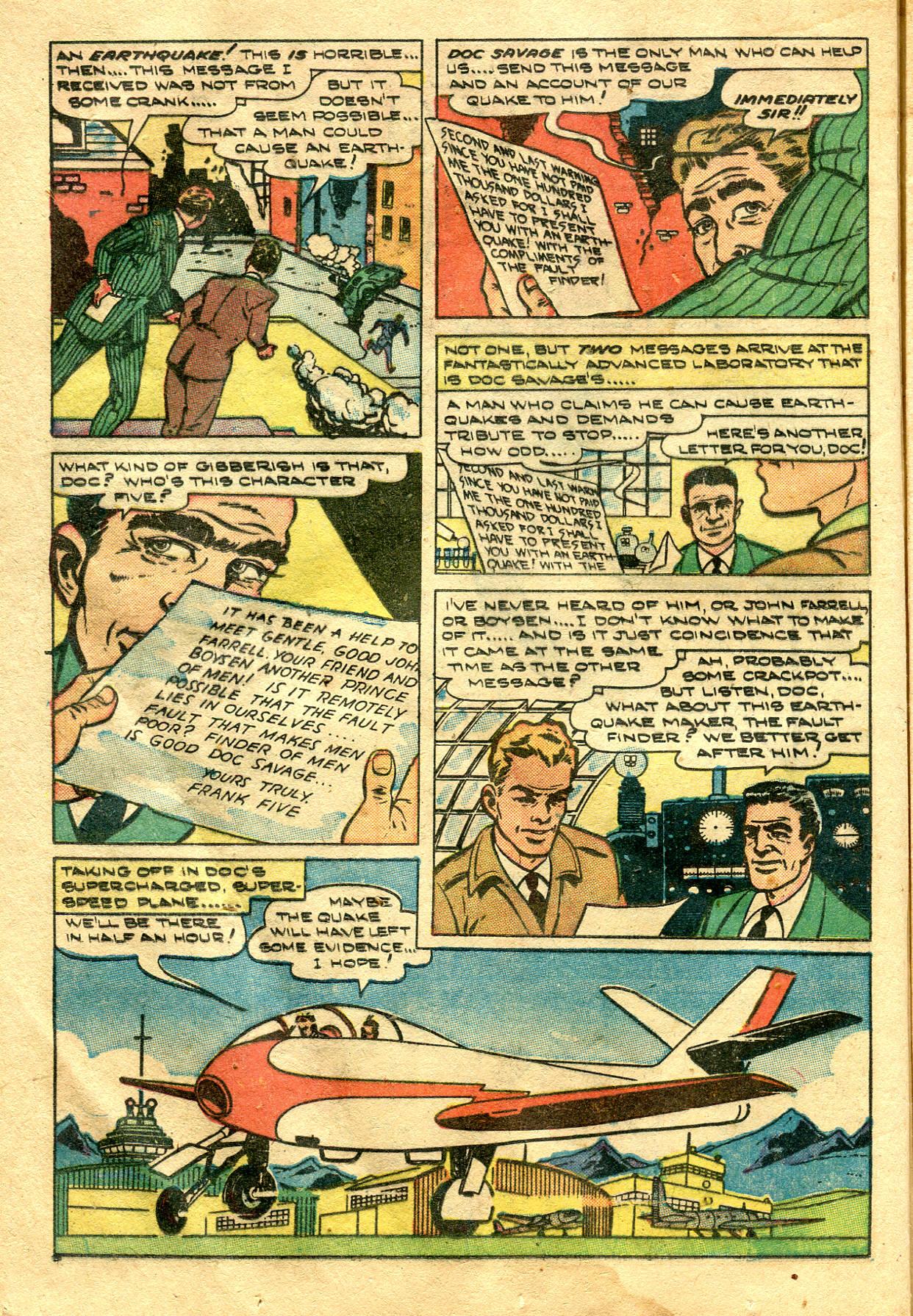 Read online Shadow Comics comic -  Issue #99 - 20