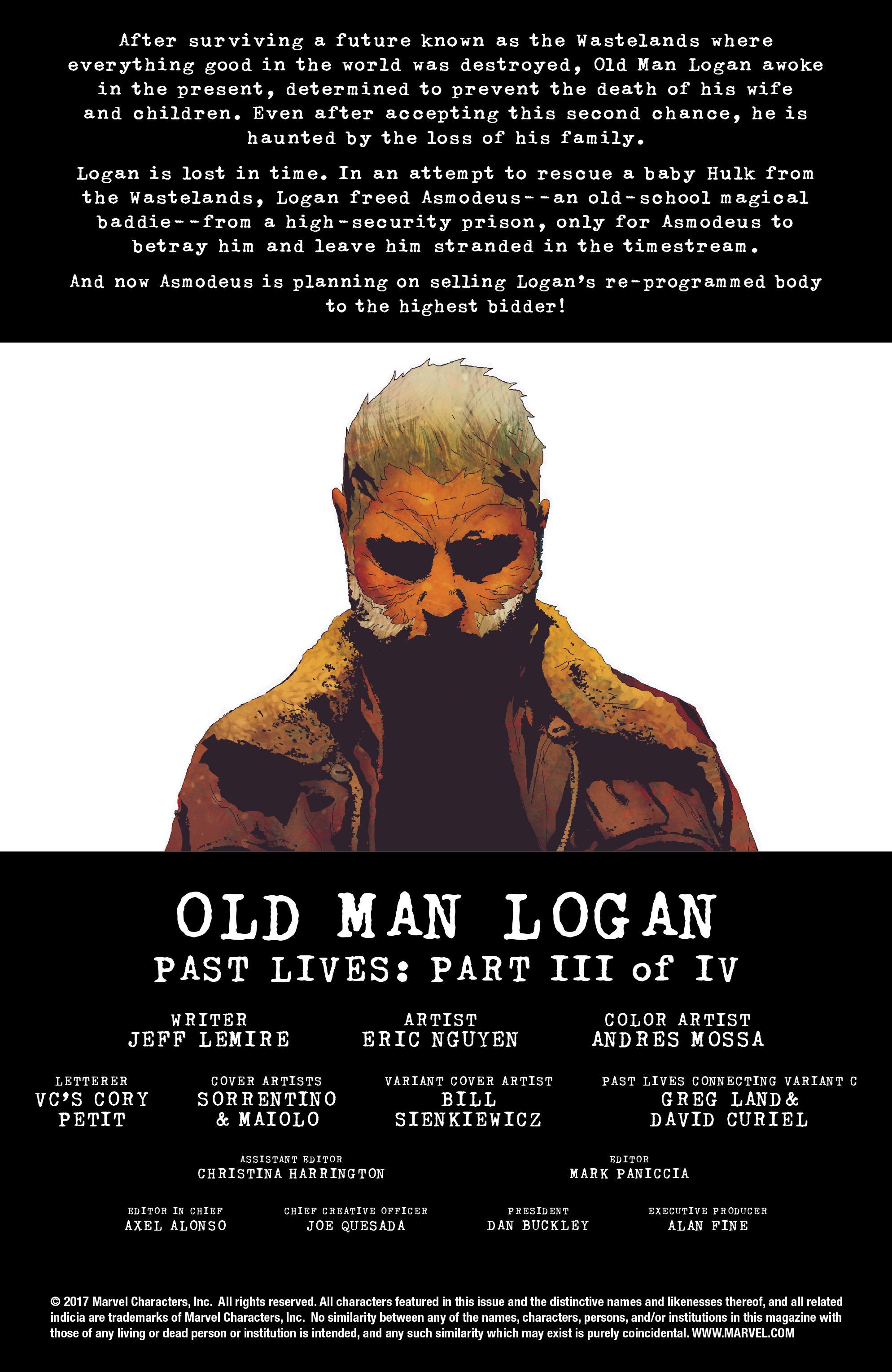Read online Old Man Logan (2016) comic -  Issue #23 - 2