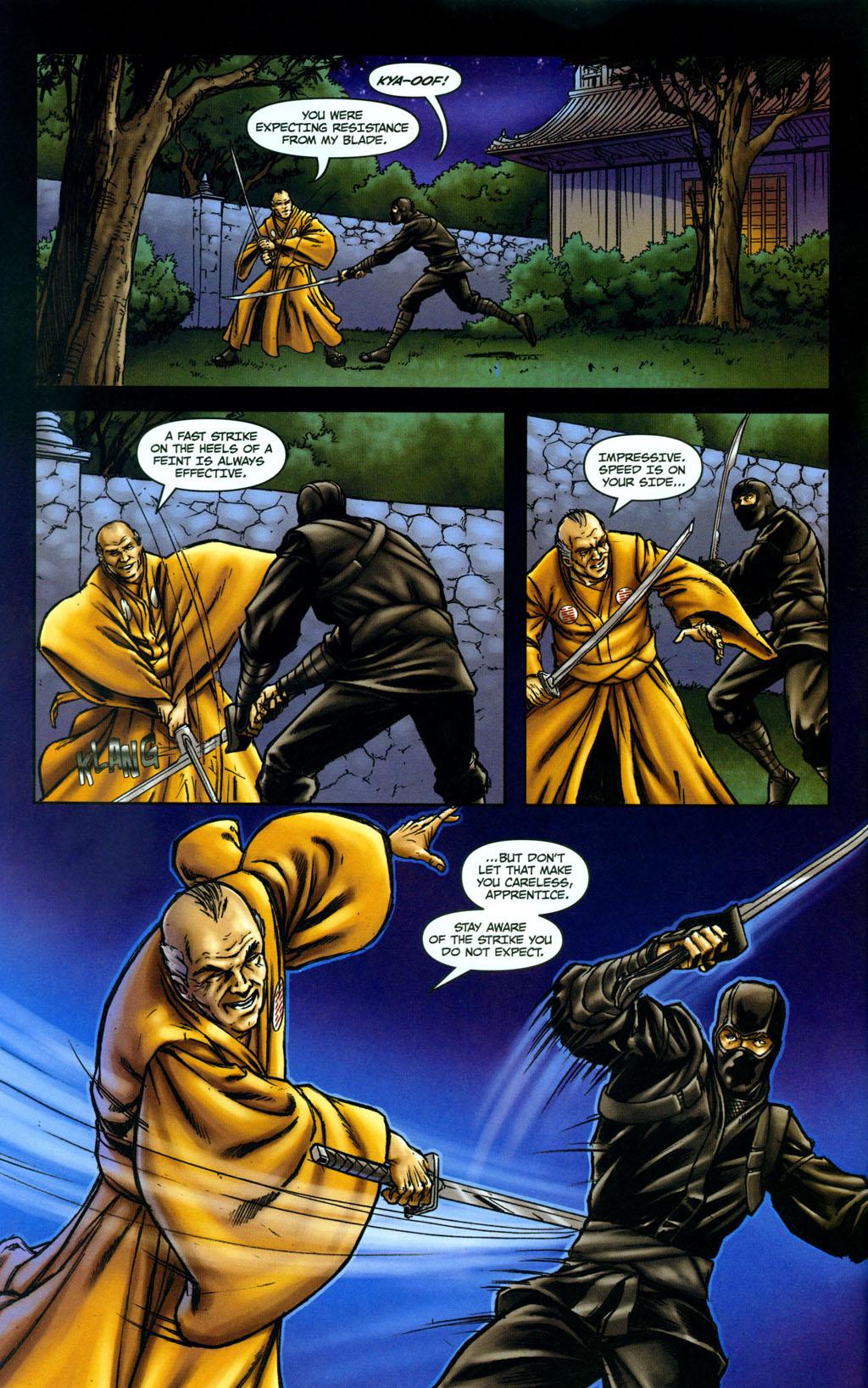 Read online Snake Eyes: Declassified comic -  Issue #5 - 6