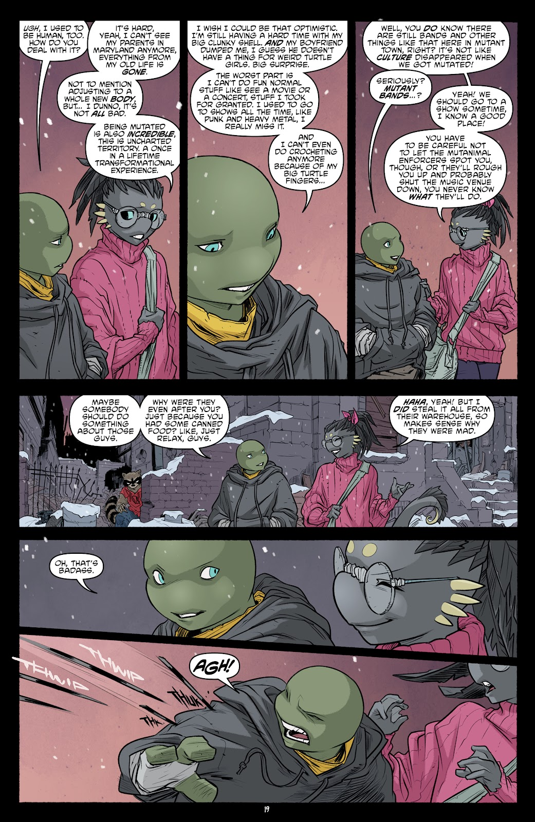 Read online Teenage Mutant Ninja Turtles (2011) comic -  Issue #101 - 21