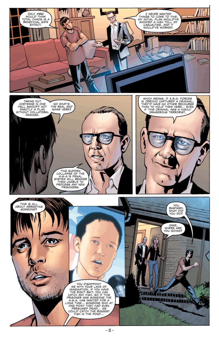 Read online Jericho Season 4 comic -  Issue #2 - 15