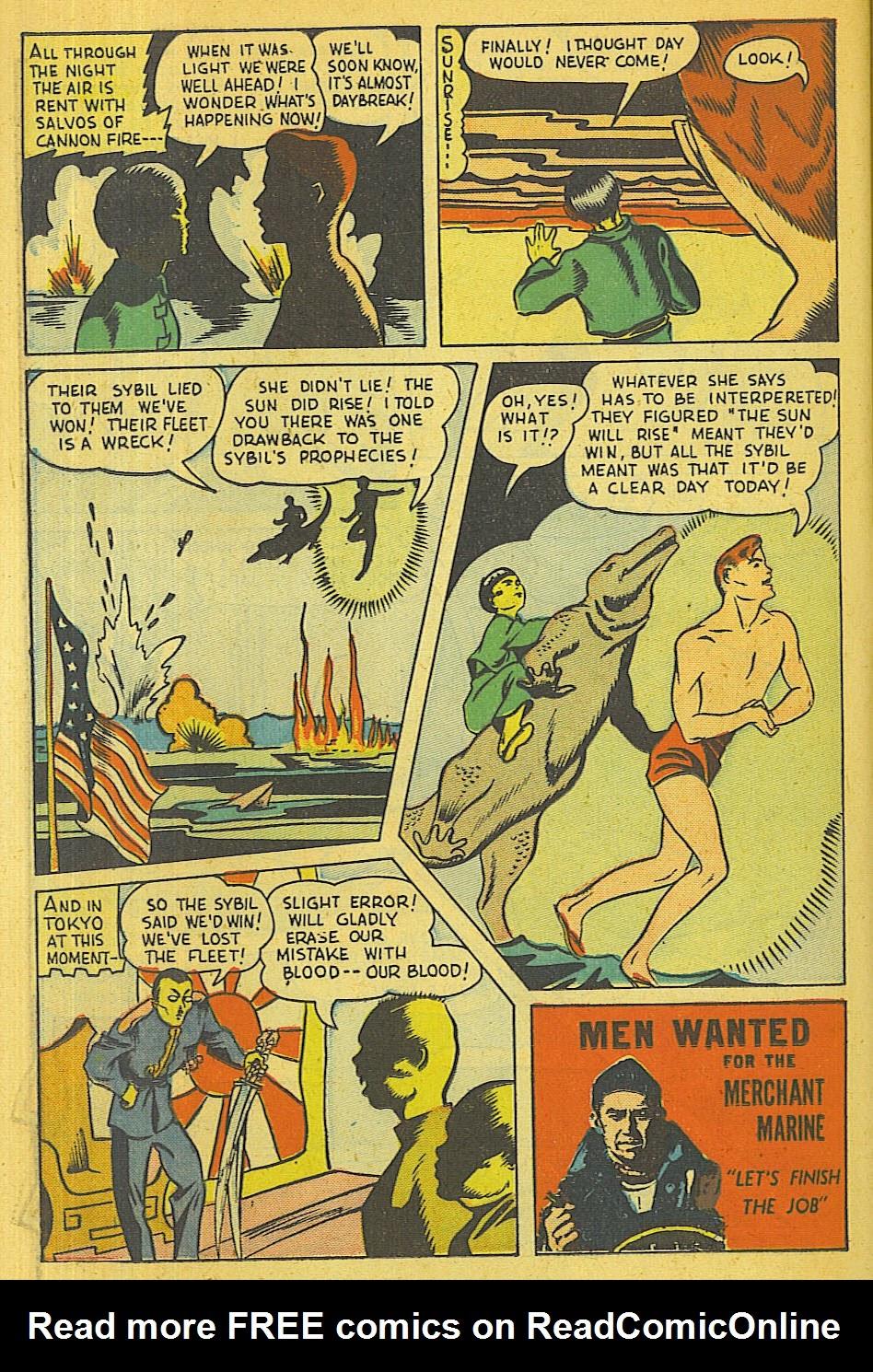 Read online Super-Magician Comics comic -  Issue #39 - 37