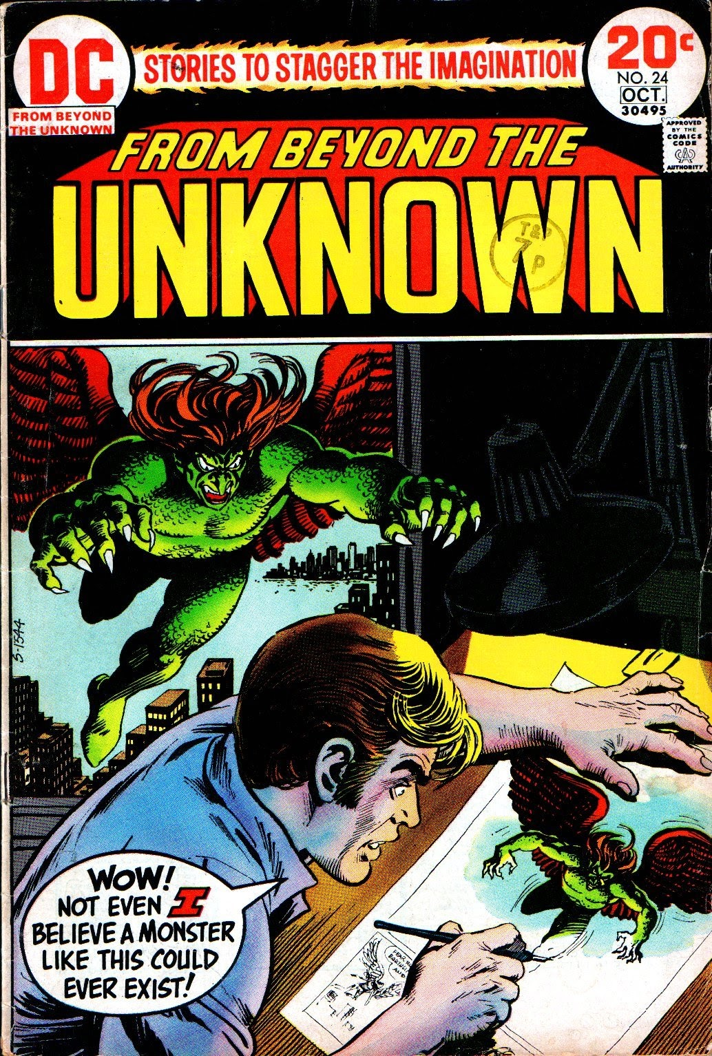 From Beyond the Unknown (1969) issue 24 - Page 1