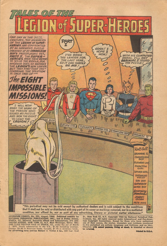 Read online Adventure Comics (1938) comic -  Issue #323 - 3