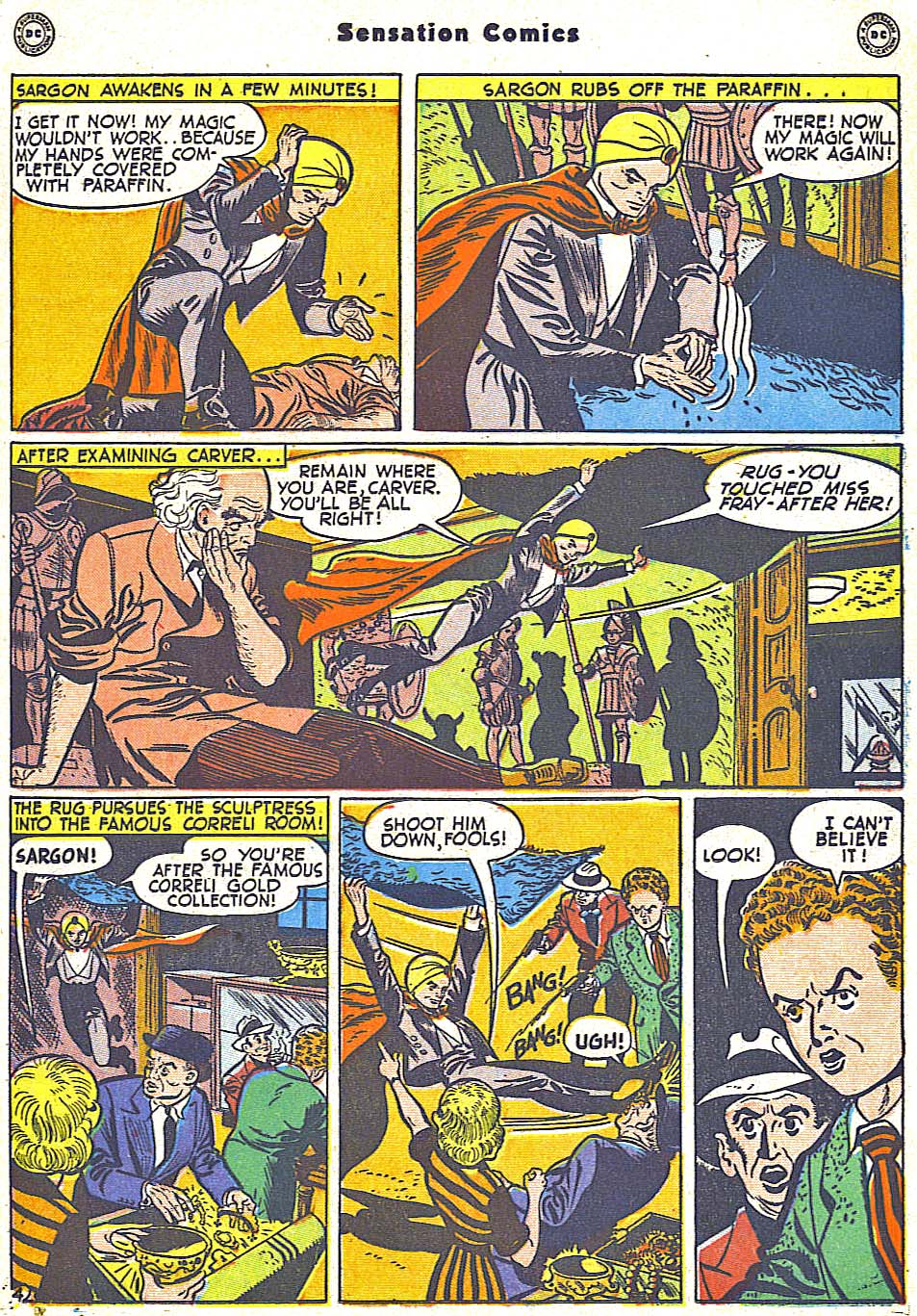 Read online Sensation (Mystery) Comics comic -  Issue #79 - 27