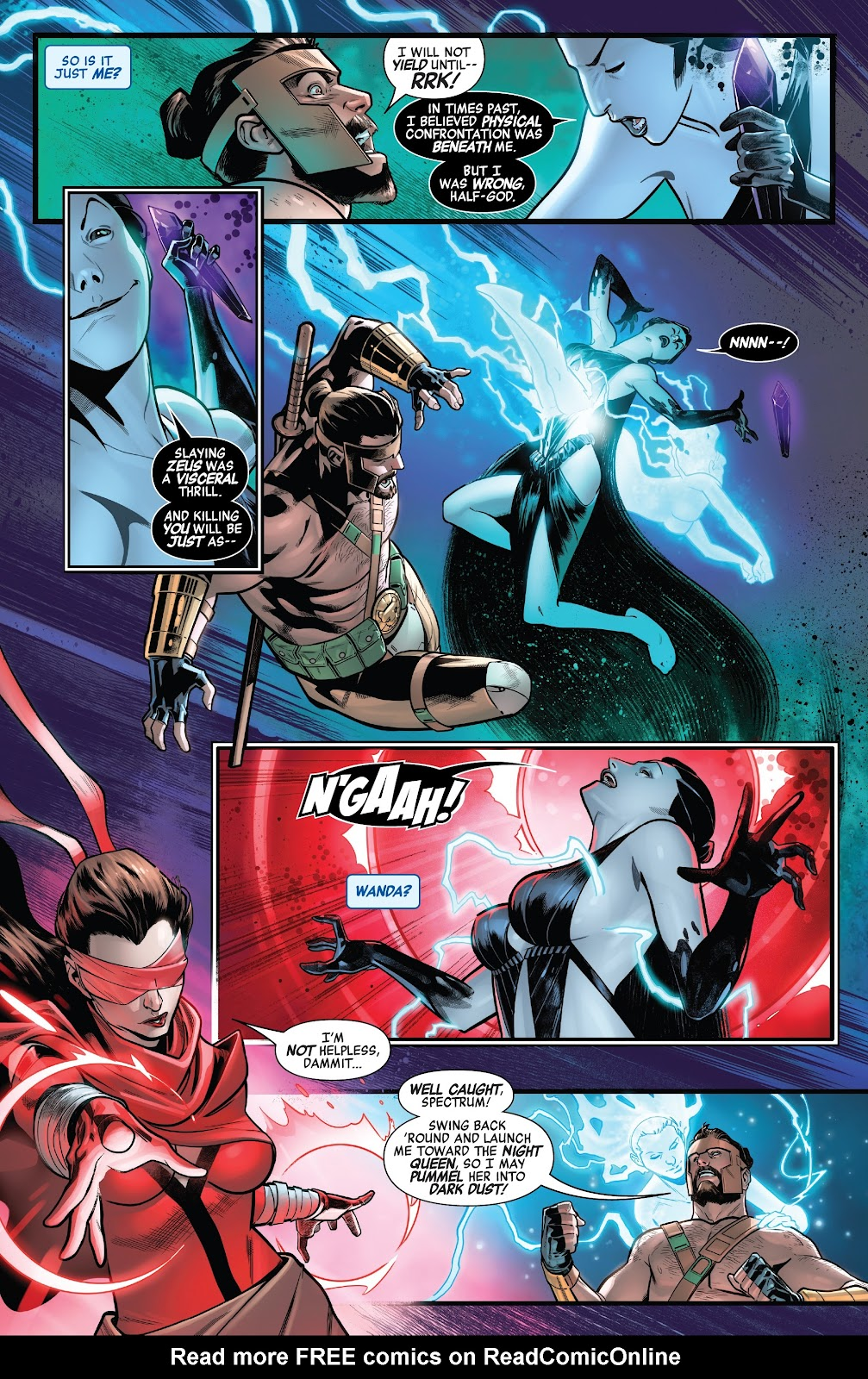 Read online Avengers No Road Home comic -  Issue #7 - 12