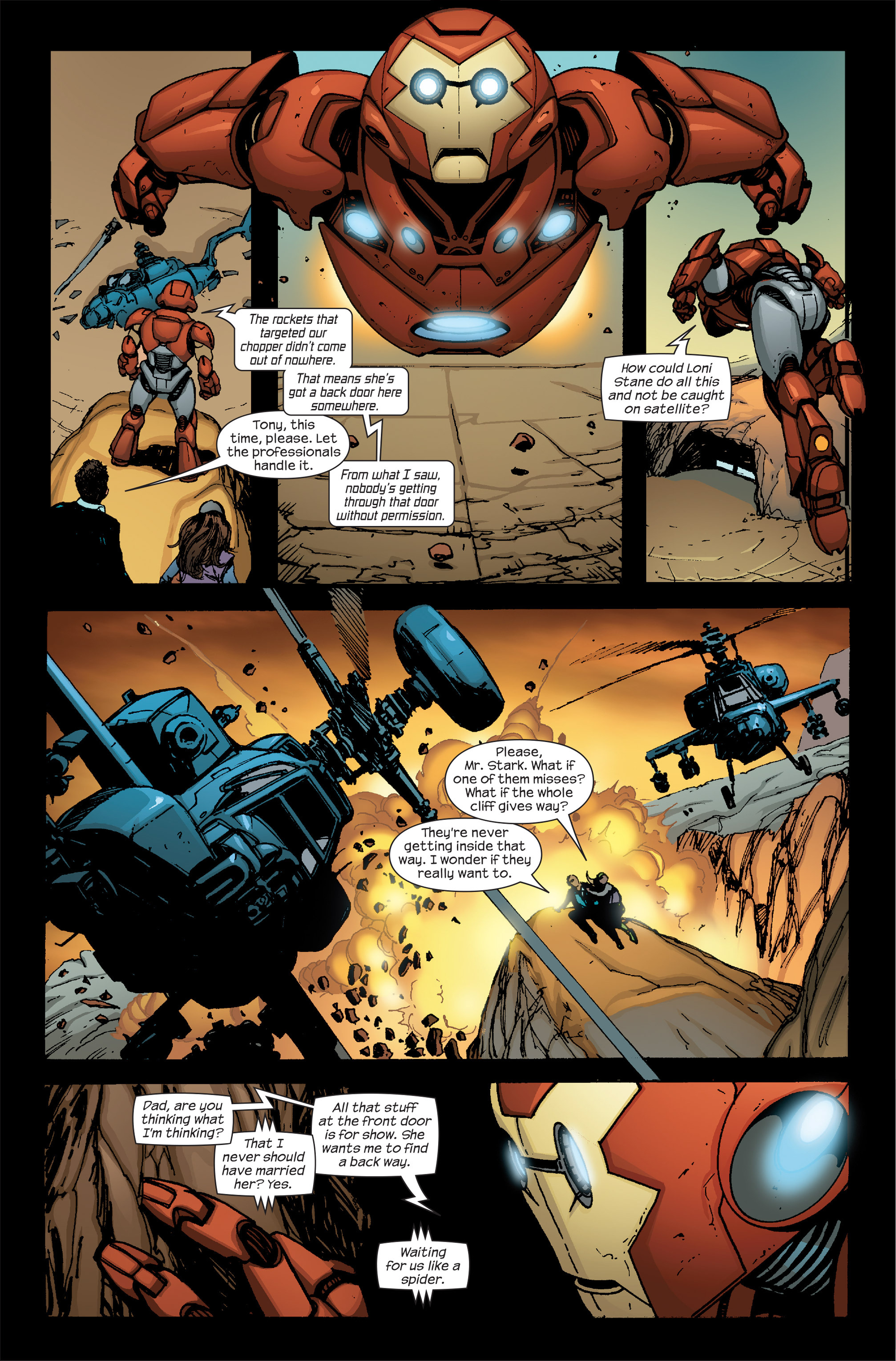 Read online Ultimate Iron Man II comic -  Issue #5 - 12