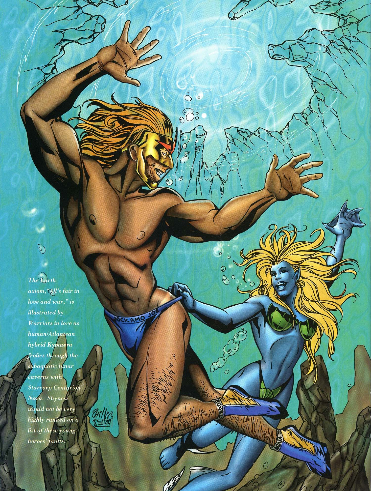 Read online Marvel Swimsuit Special comic -  Issue #3 - 29