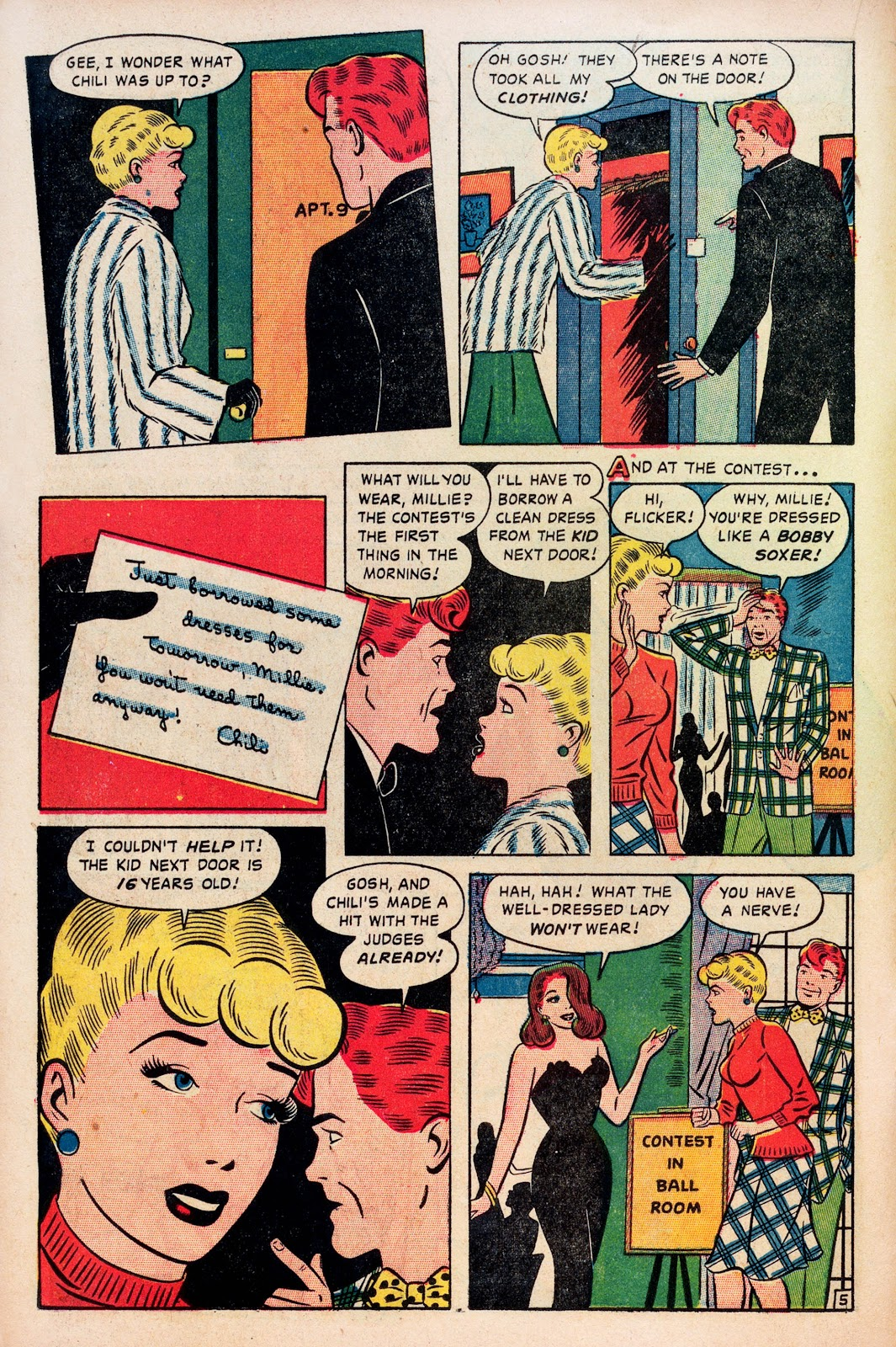 Read online Comedy Comics (1948) comic -  Issue #1 - 16