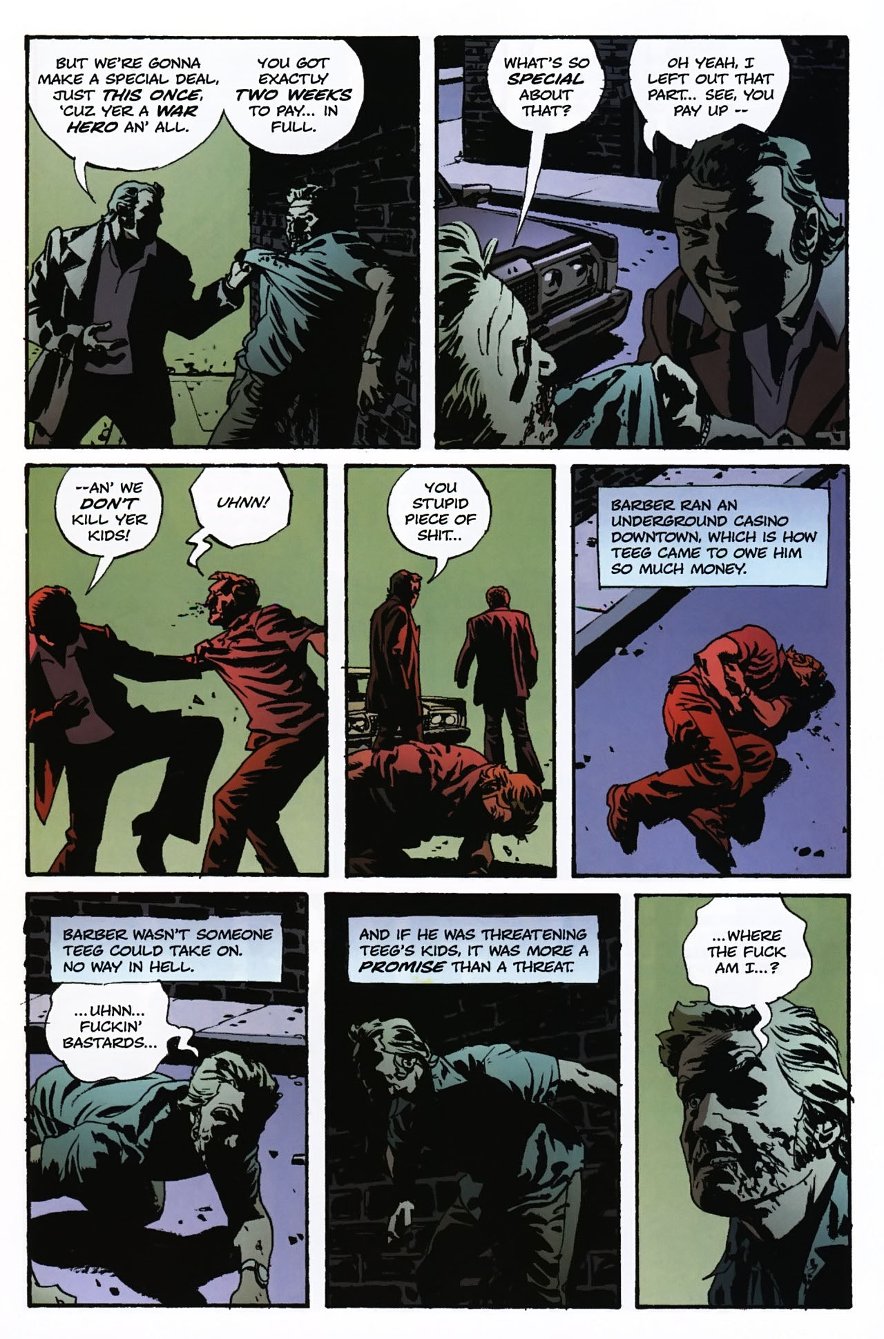 Read online Criminal (2008) comic -  Issue #2 - 11