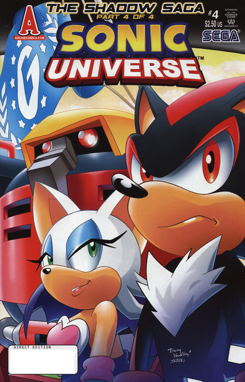 Read online Sonic Universe comic -  Issue #4 - 1