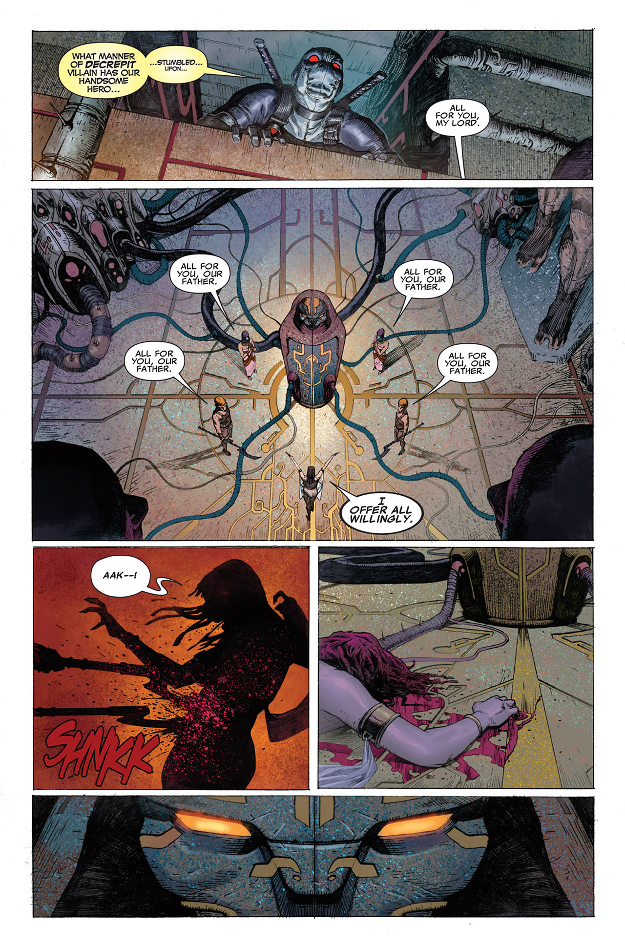 Read online Uncanny X-Force (2010) comic -  Issue #1 - 5