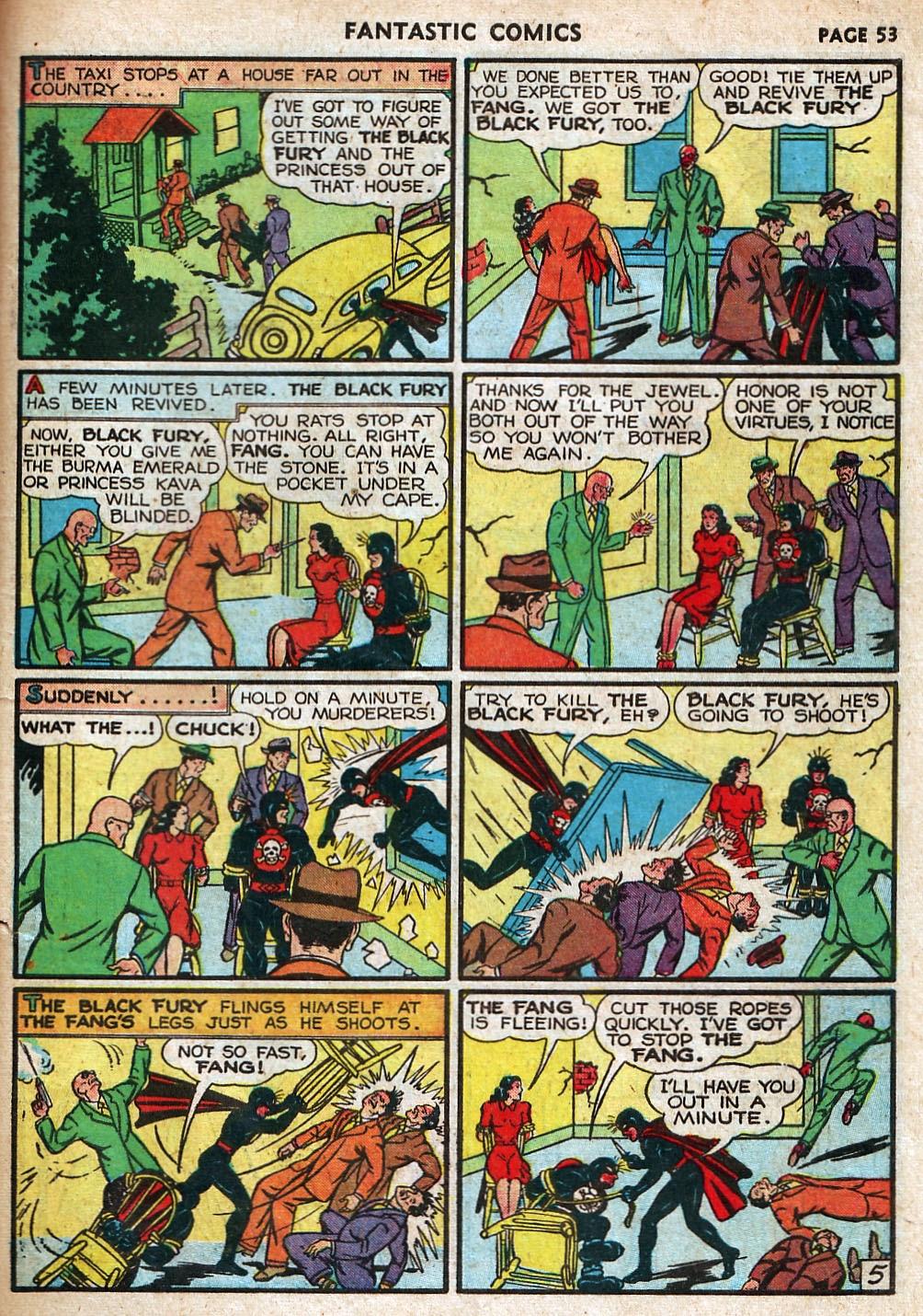 Read online Fantastic Comics comic -  Issue #18 - 55