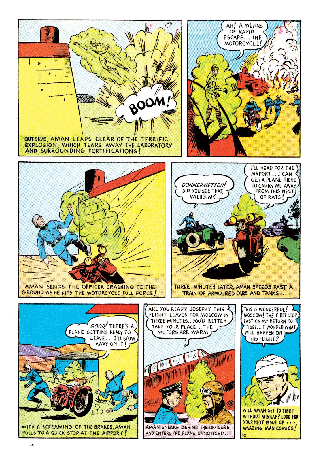 Read online The Bill Everett Archives comic -  Issue # TPB 2 (Part 1) - 49