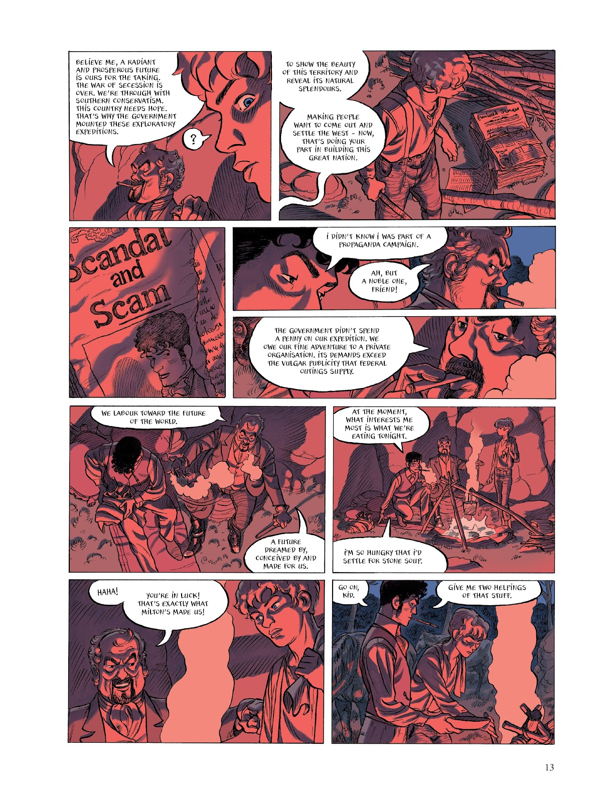 Read online The Smell of Starving Boys comic -  Issue # TPB - 14