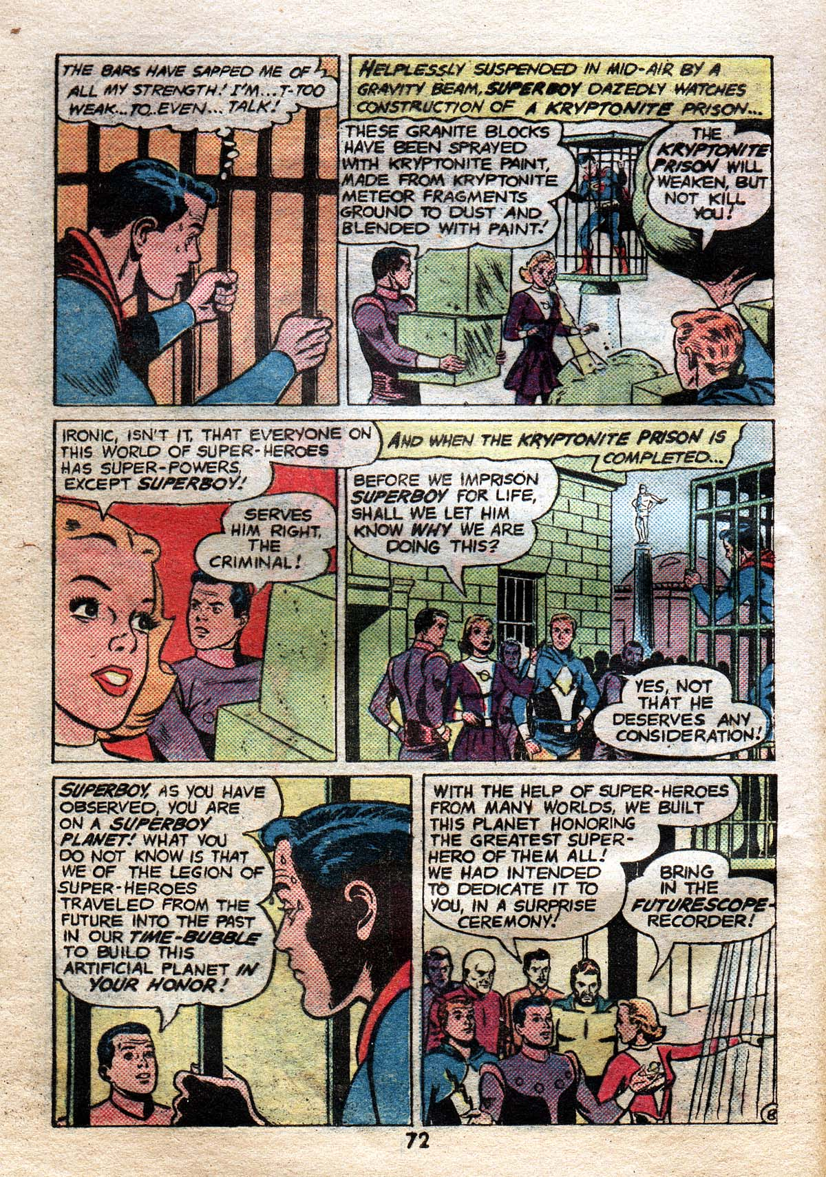 Read online Adventure Comics (1938) comic -  Issue #491 - 71