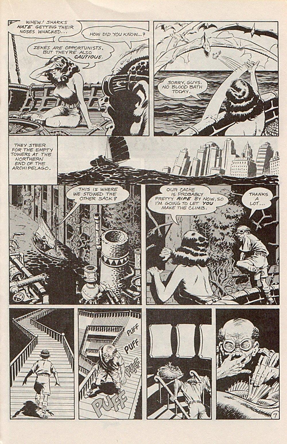 Read online Xenozoic Tales comic -  Issue #1 - 22