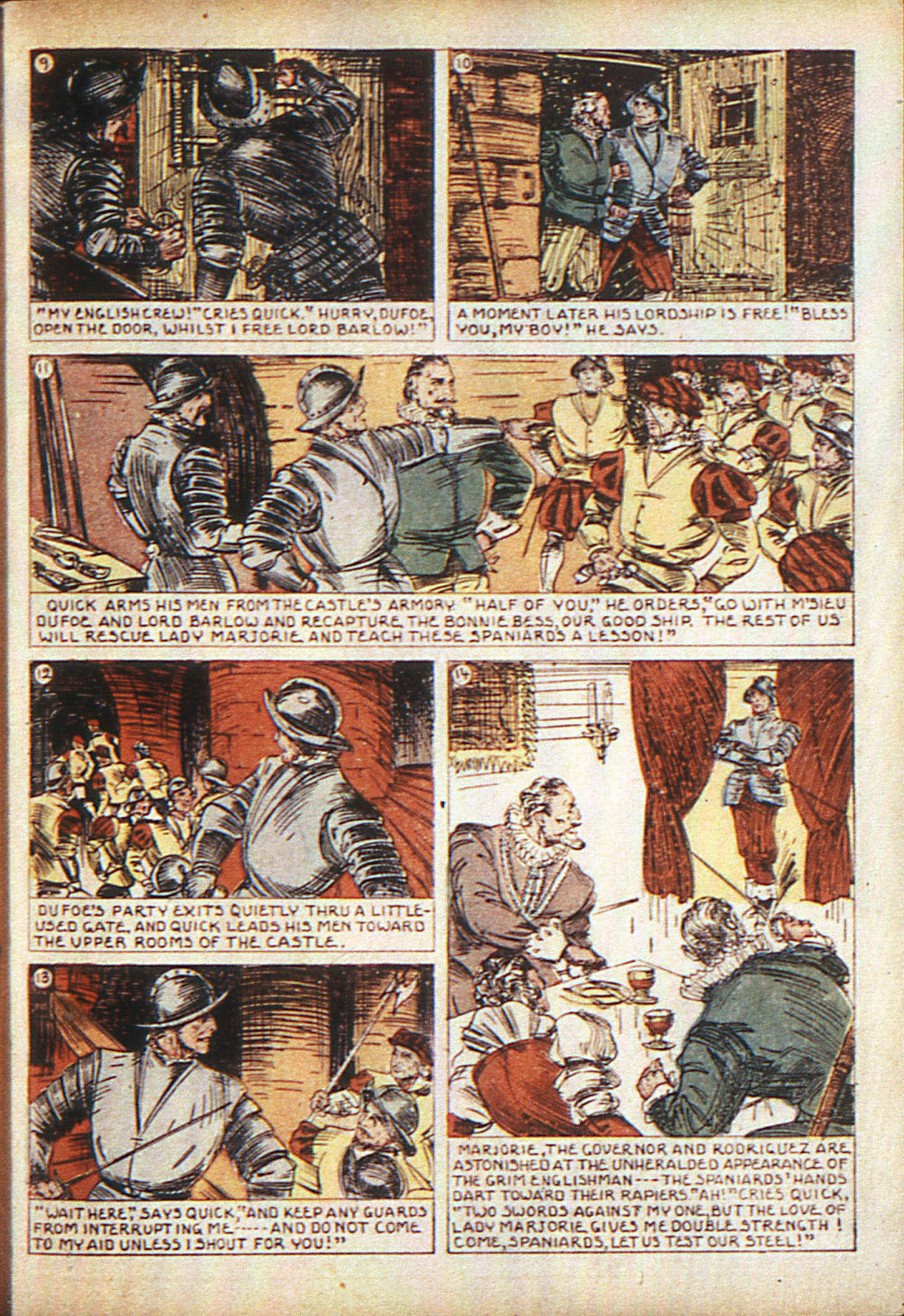 Read online Adventure Comics (1938) comic -  Issue #10 - 16