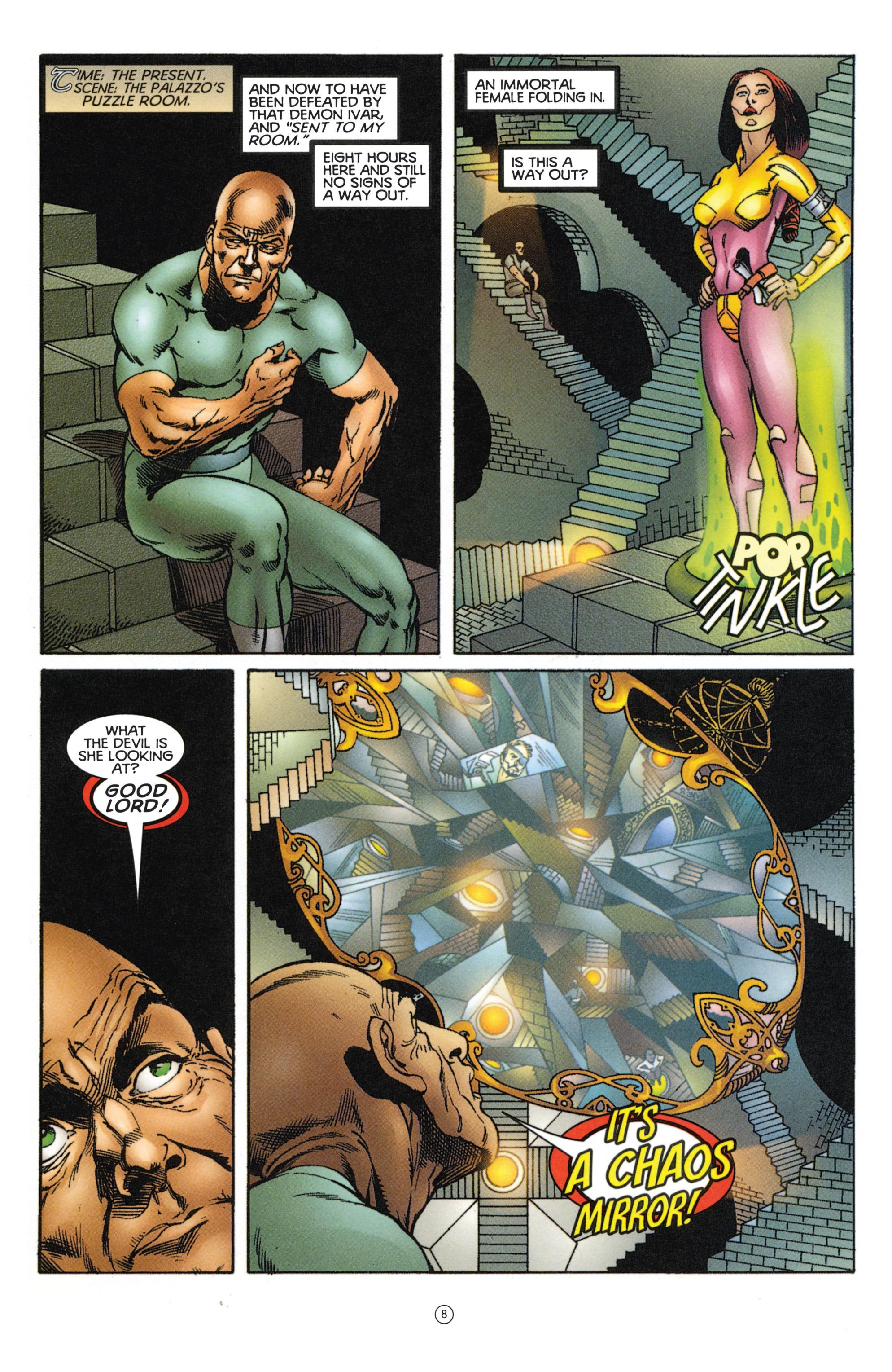 Read online Eternal Warriors comic -  Issue # Issue Mog - 7
