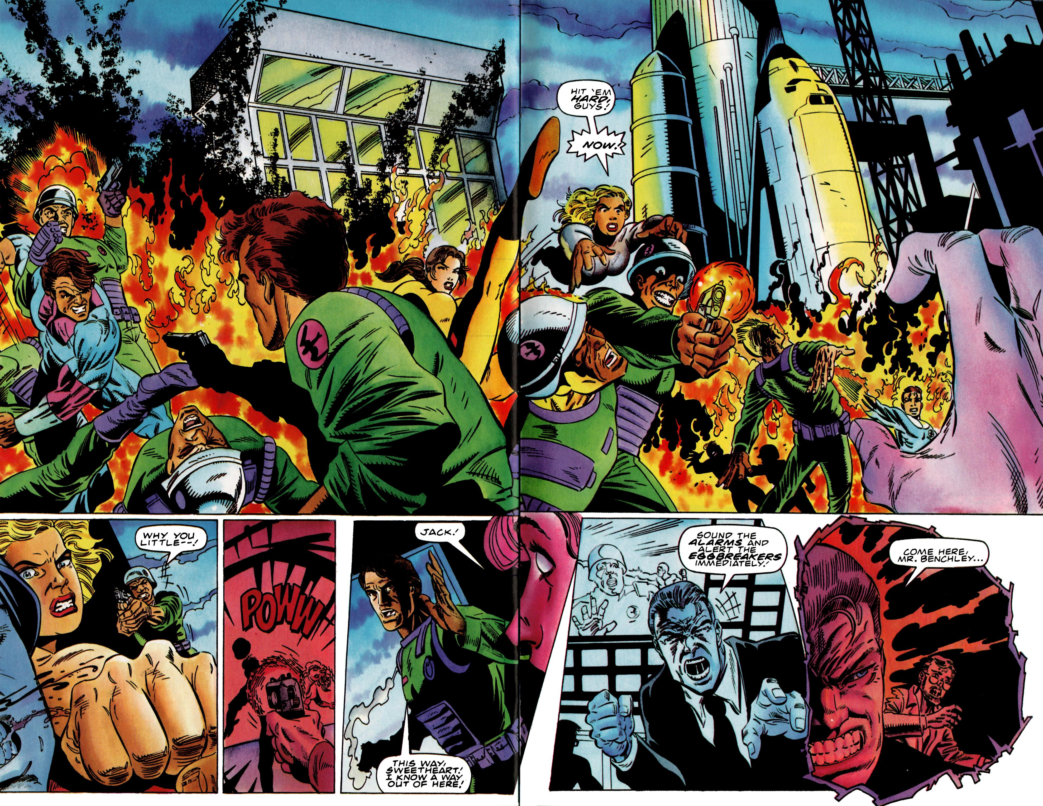 Read online Harbinger (1992) comic -  Issue #37 - 17