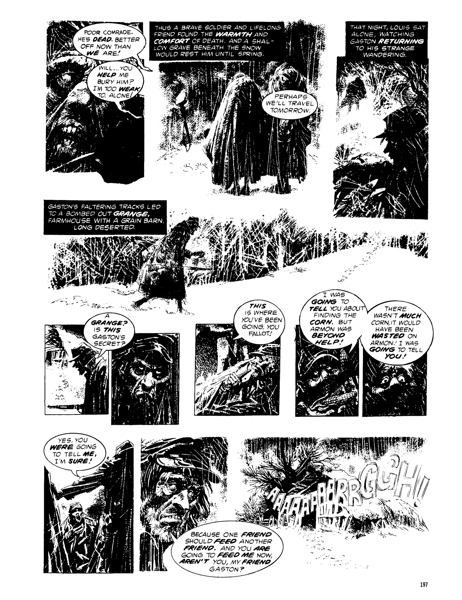 Read online Eerie Archives comic -  Issue # TPB 13 - 198