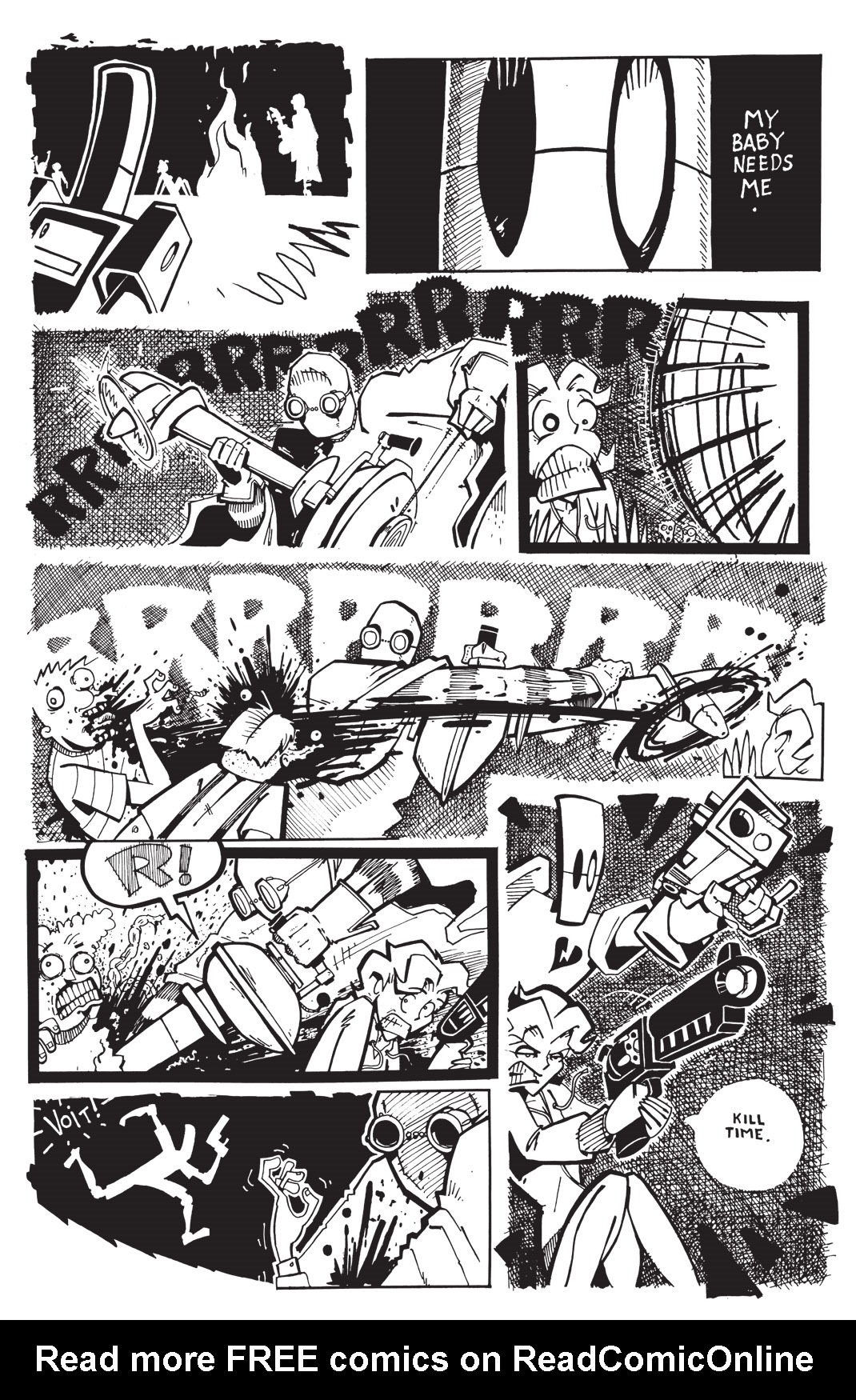 Read online Scud: The Disposable Assassin: The Whole Shebang comic -  Issue # TPB (Part 3) - 123
