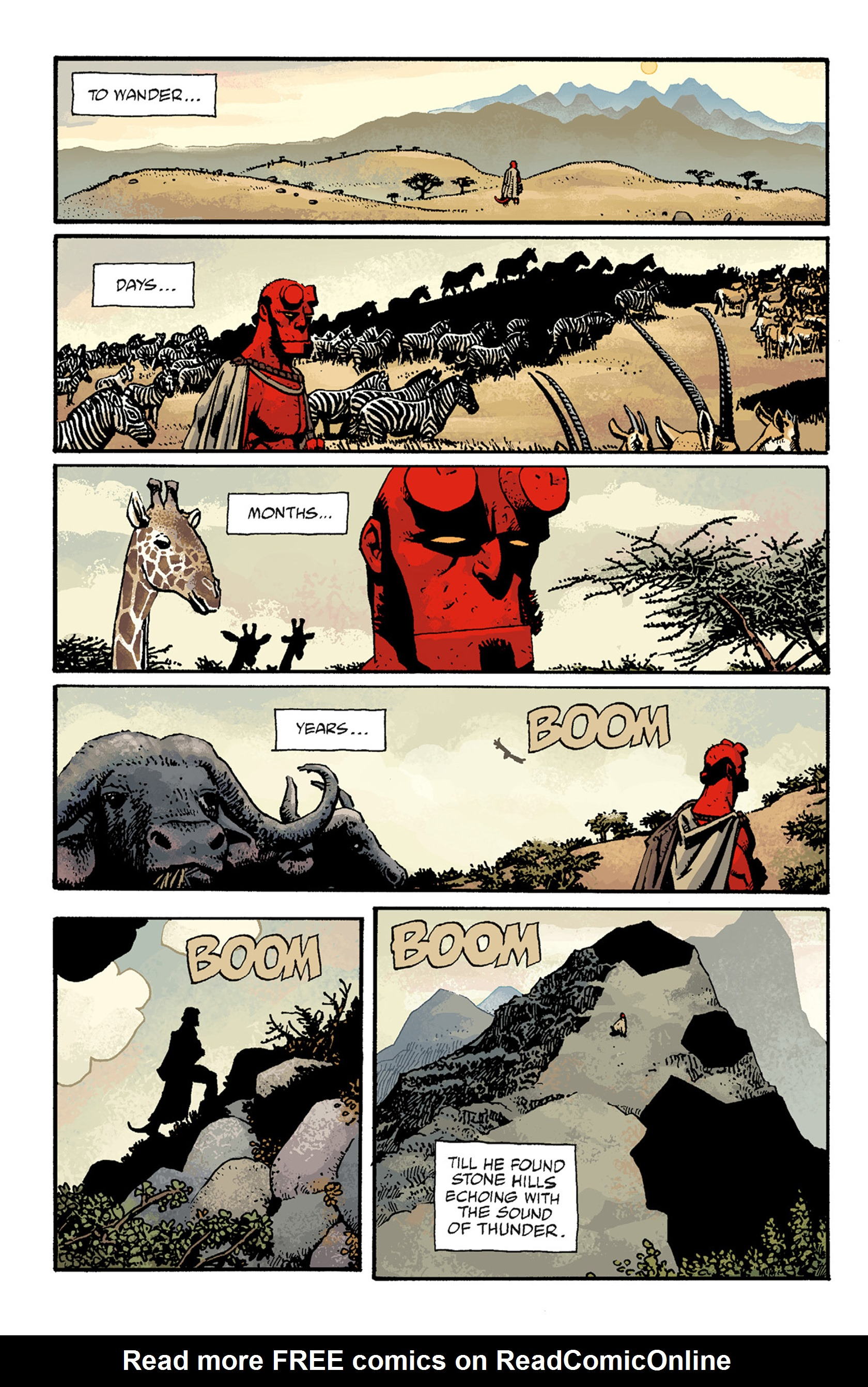 Read online Hellboy: The Troll Witch and Others comic -  Issue # TPB - 94