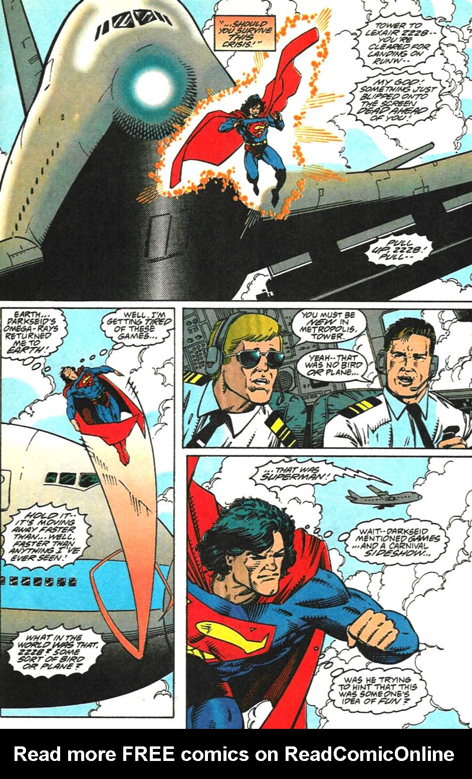 Read online Adventures of Superman (1987) comic -  Issue #518 - 22