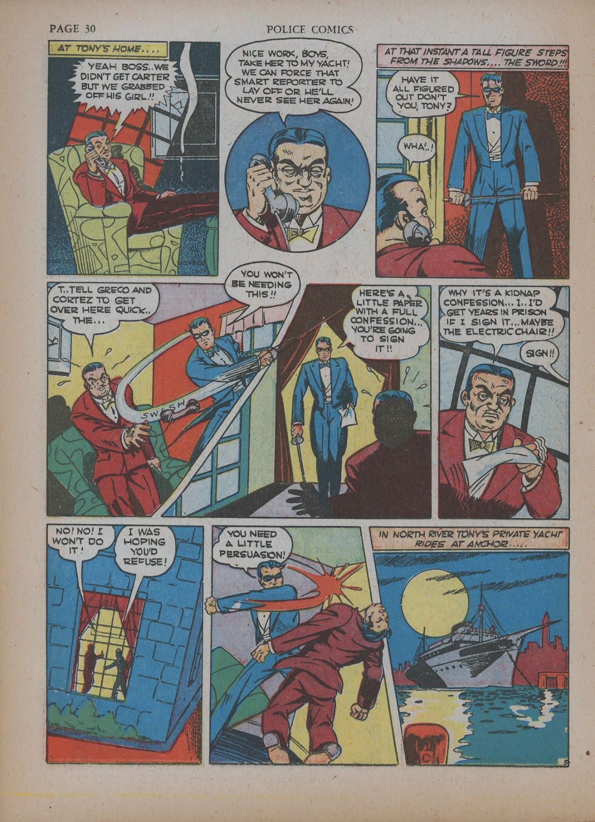 Police Comics issue 5 - Page 34